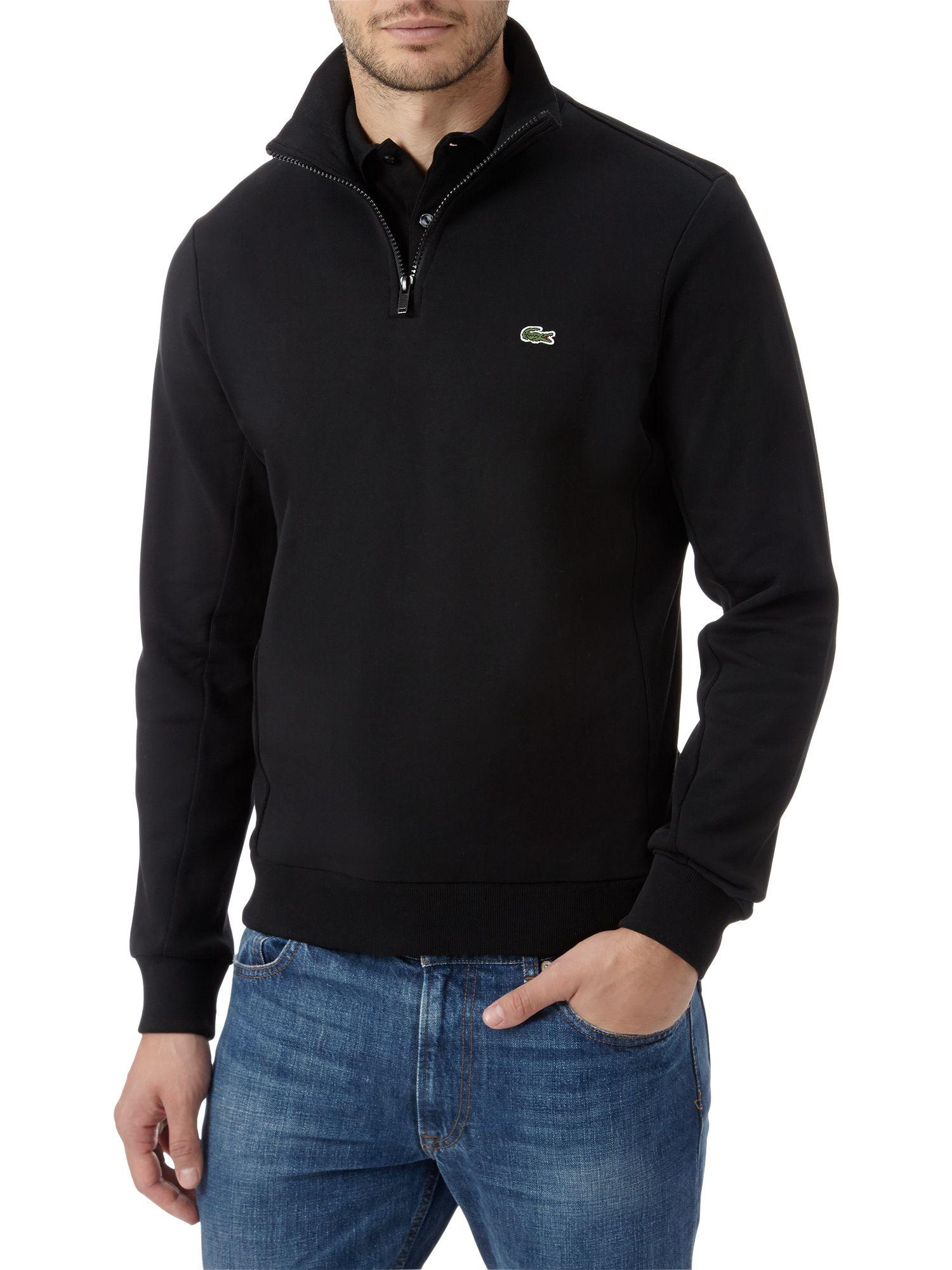 Lacoste Half Zip Sweatshirt Fashion Ql