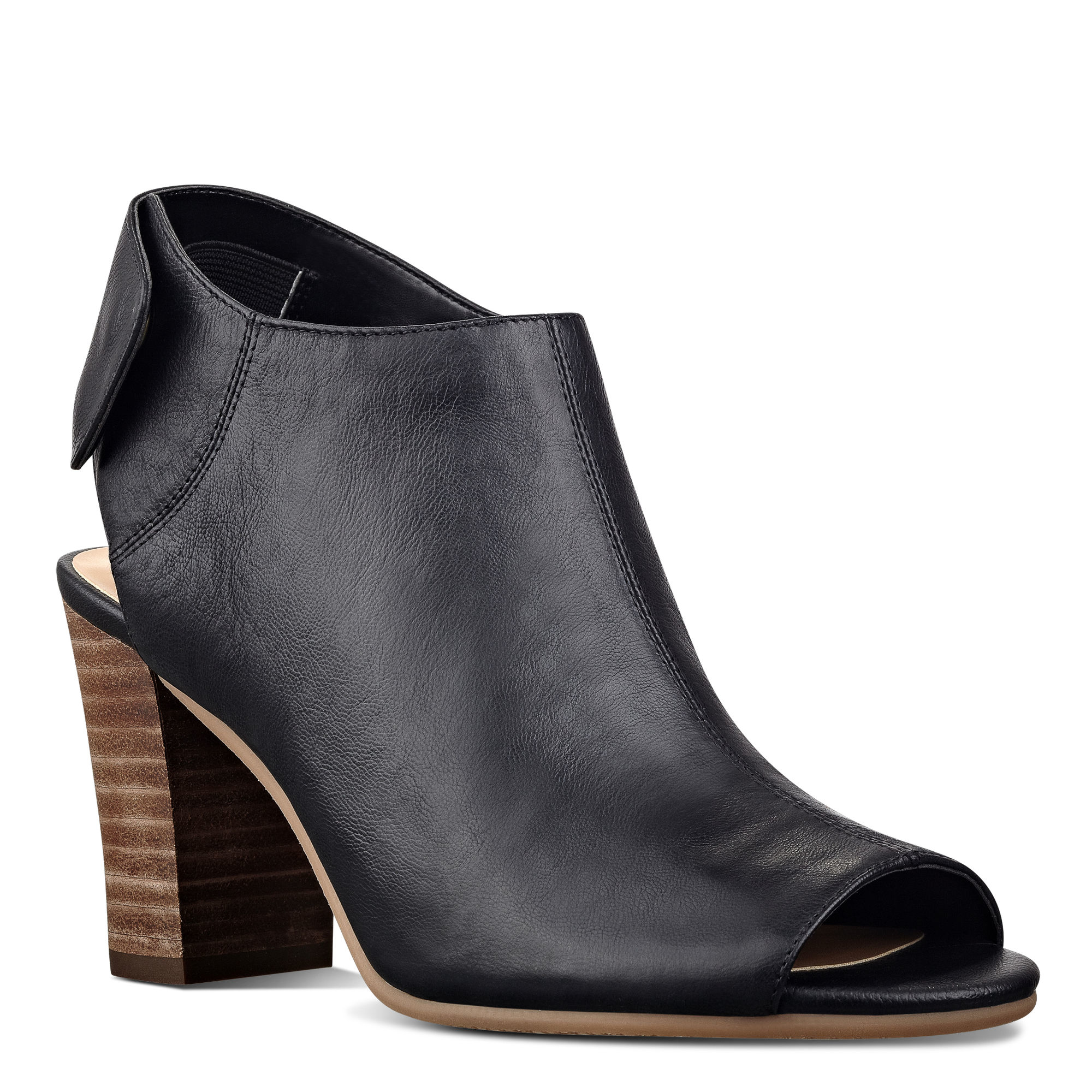 nine west open toe ankle boots