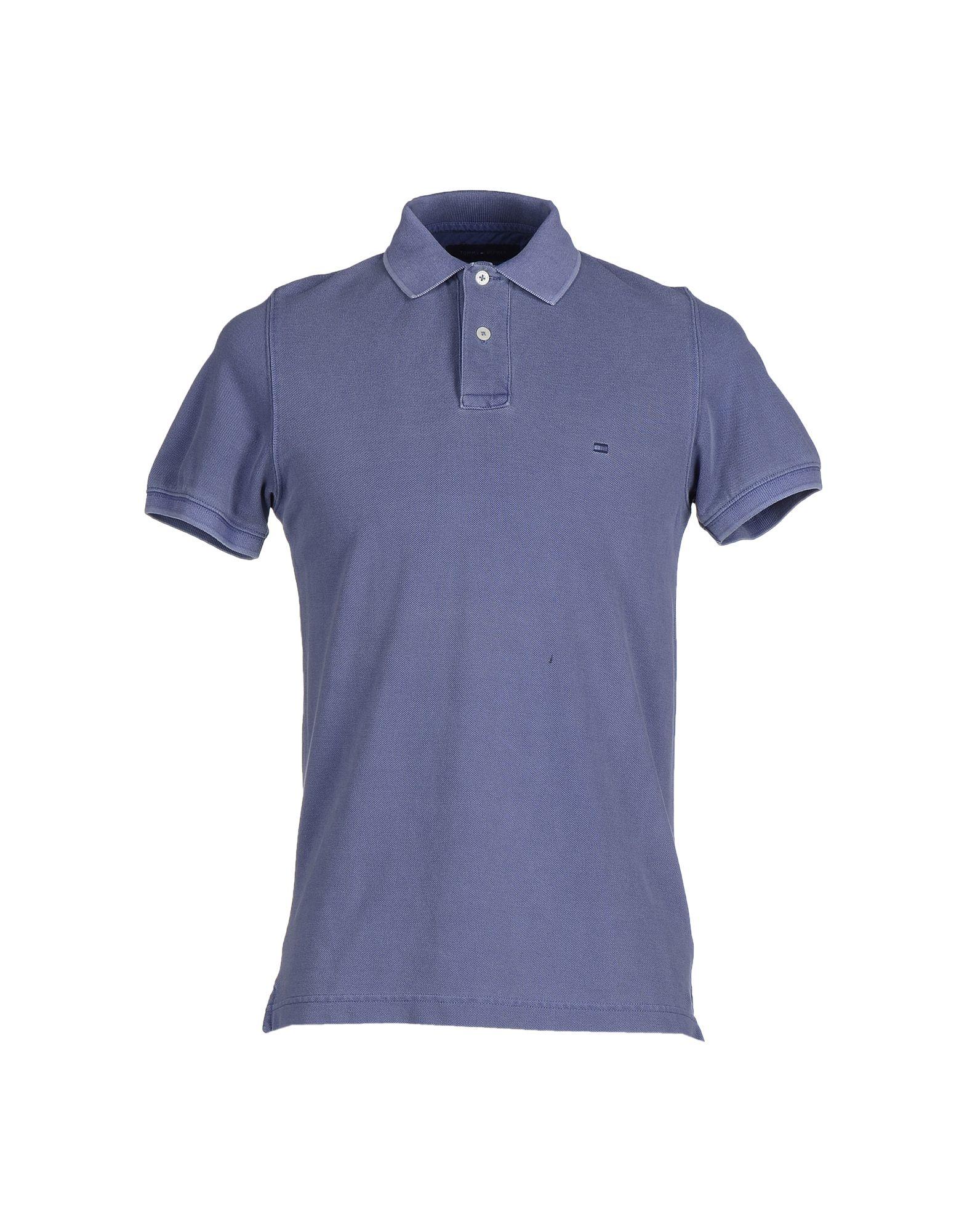 tommy hilfiger t shirt in blue for men lyst. Black Bedroom Furniture Sets. Home Design Ideas
