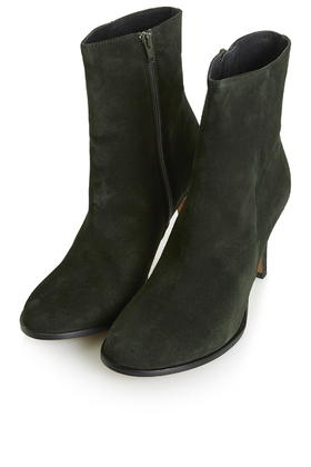 TOPSHOP Heidi Suede Ankle Boots in