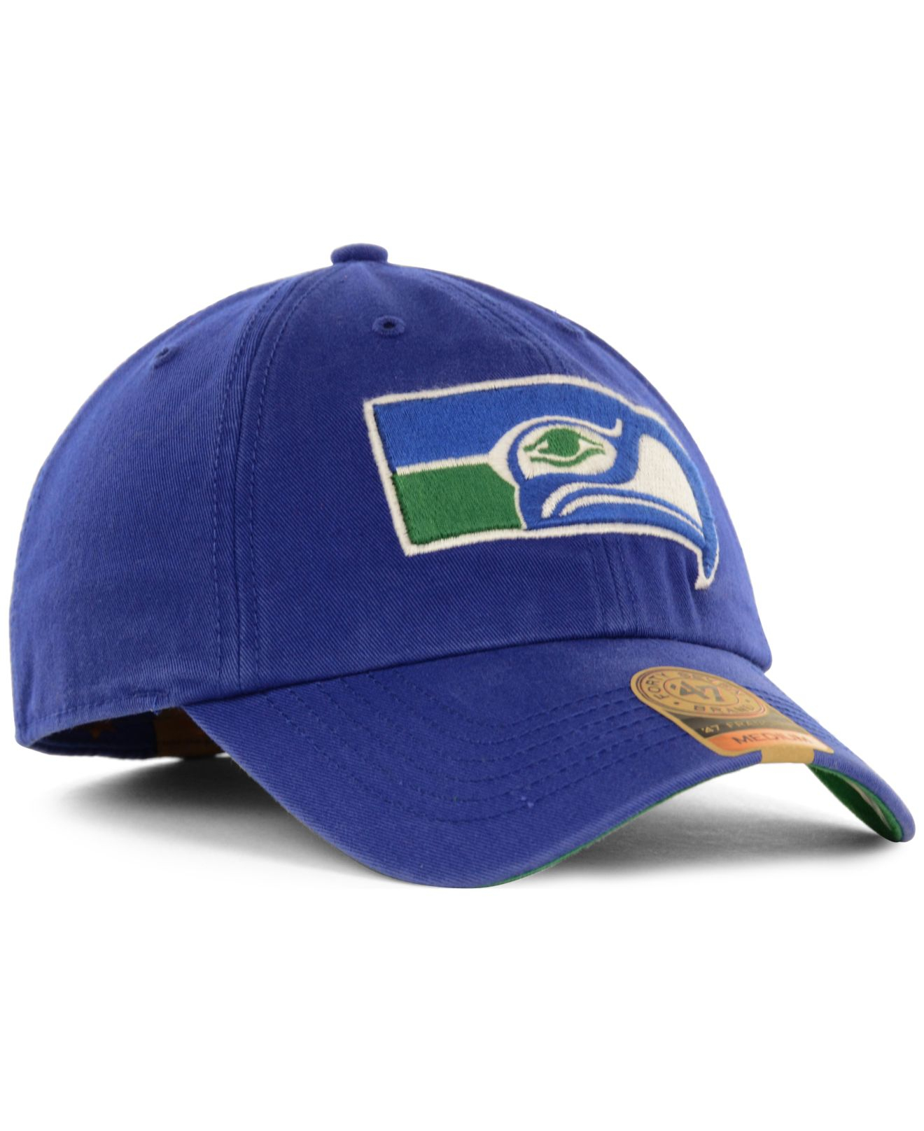 seattle seahawks 47 nfl 47 franchise cap slategray hat. Black Bedroom Furniture Sets. Home Design Ideas