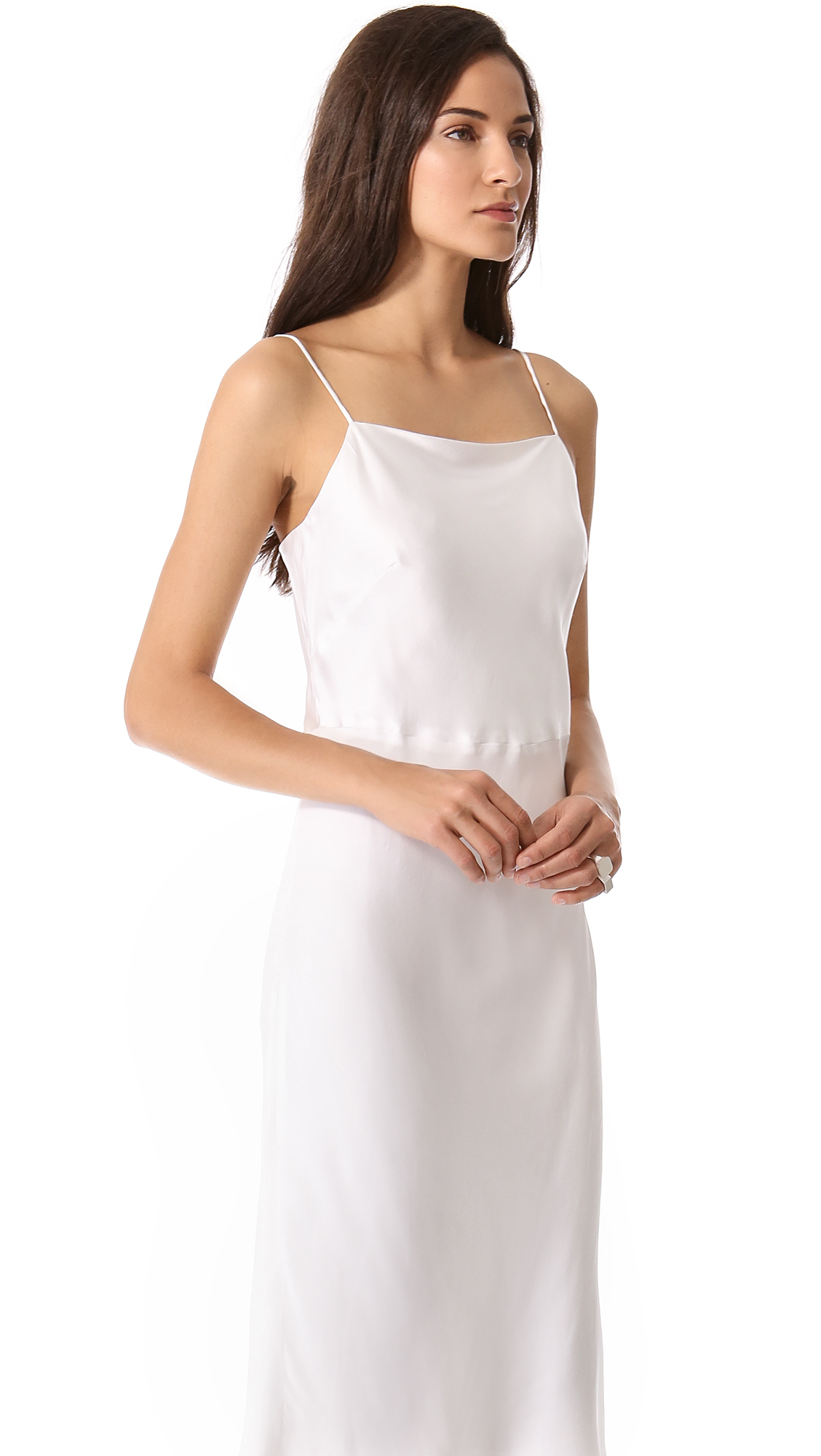 Jenni kayne Slip Dress - White in White  Lyst