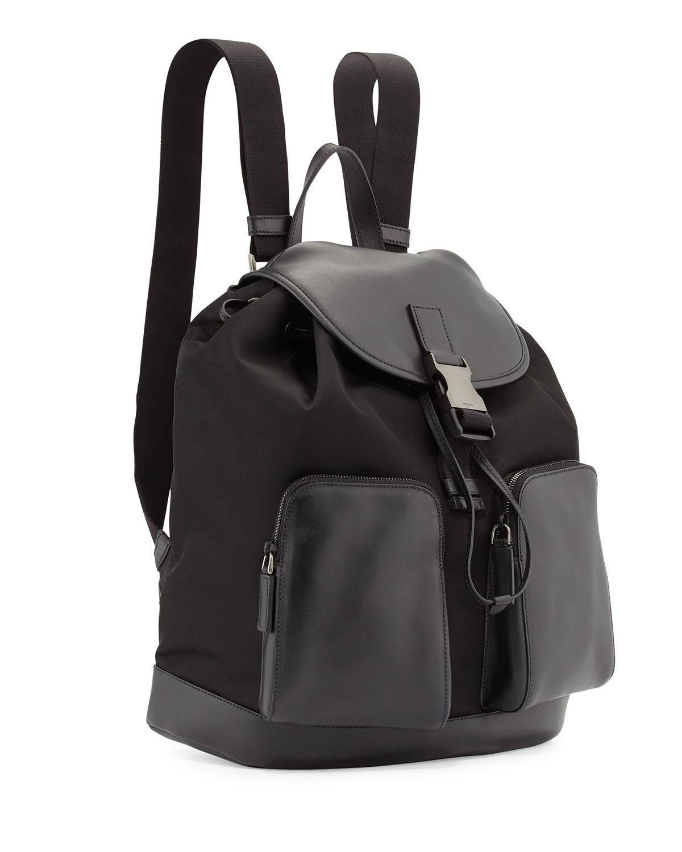 prada small saffiano leather backpack