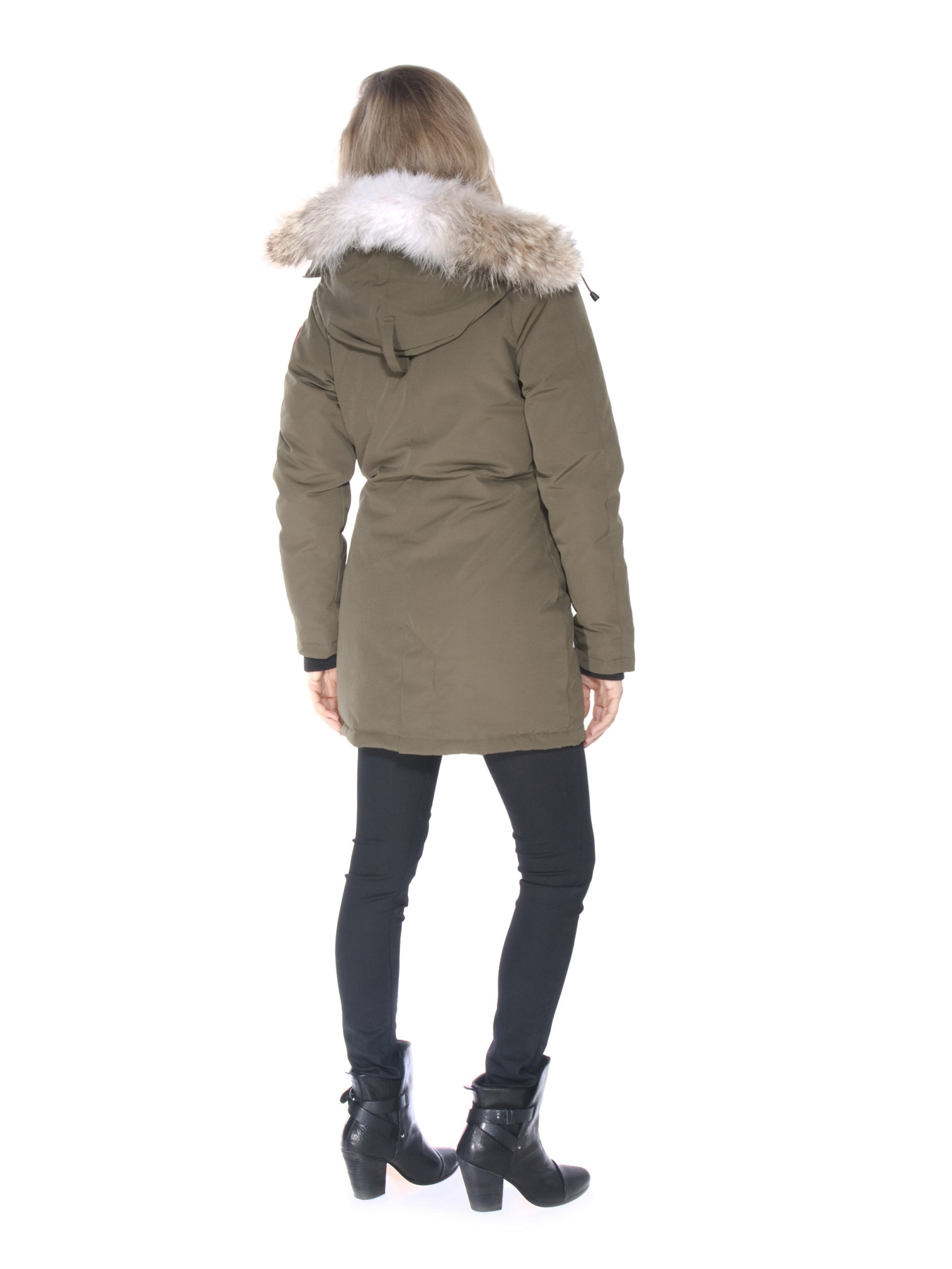Canada Goose Victoria Parka In Green Lyst