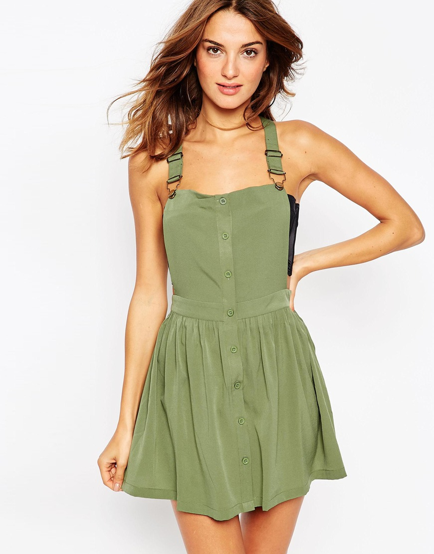 Khaki Beach Dresses