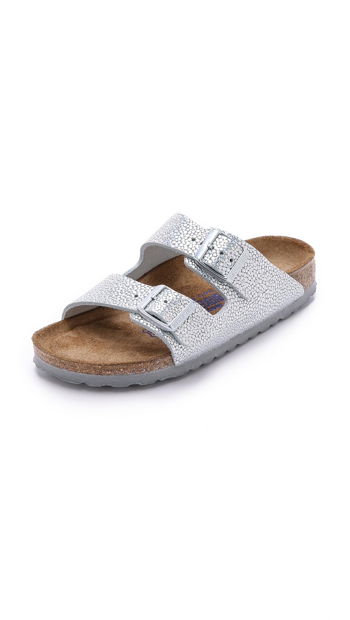 birkenstock arizona two band sfb sandals pebbles. Black Bedroom Furniture Sets. Home Design Ideas