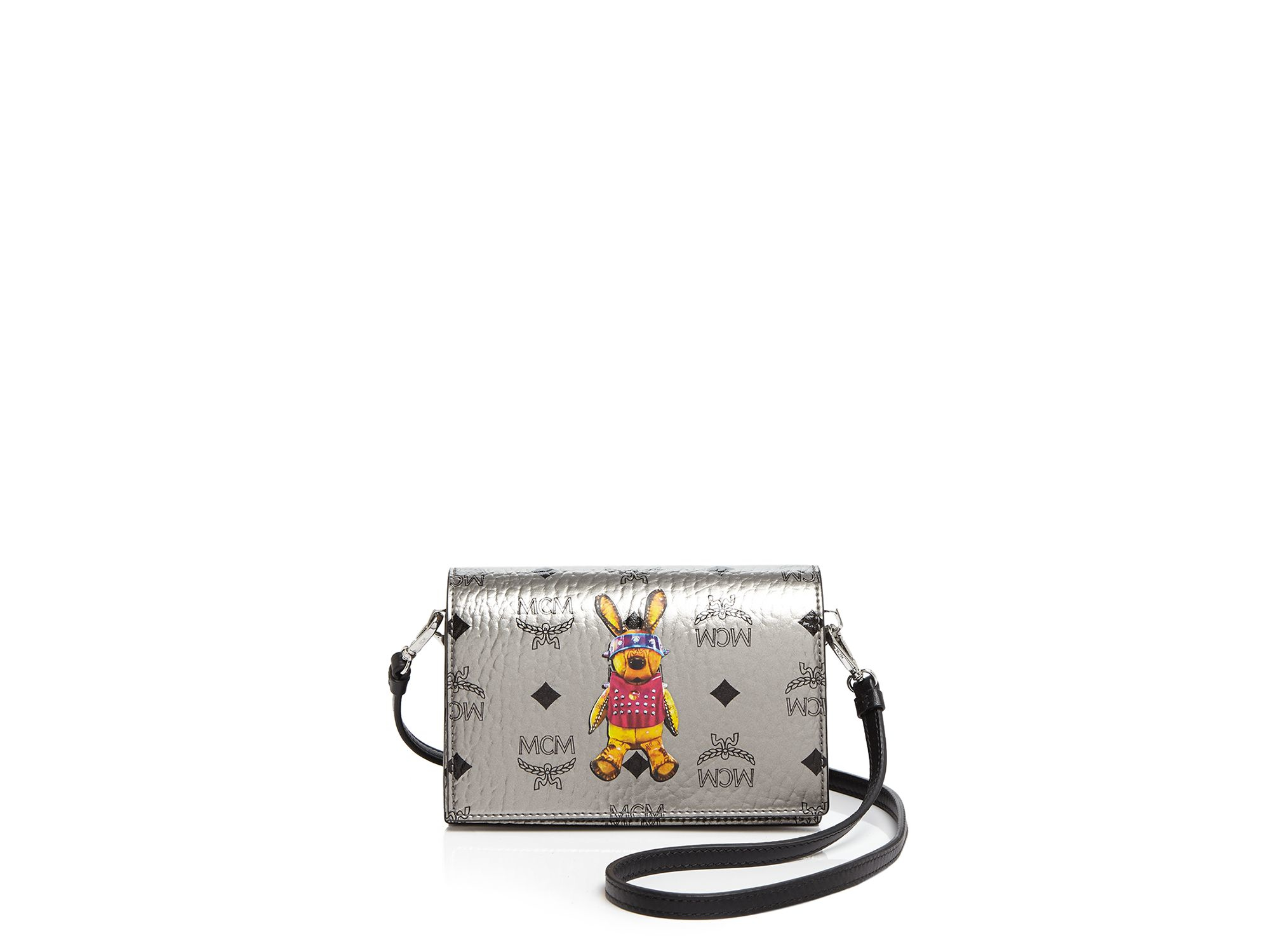 MCM Crossbody - Rabbit in Silver (Metallic)