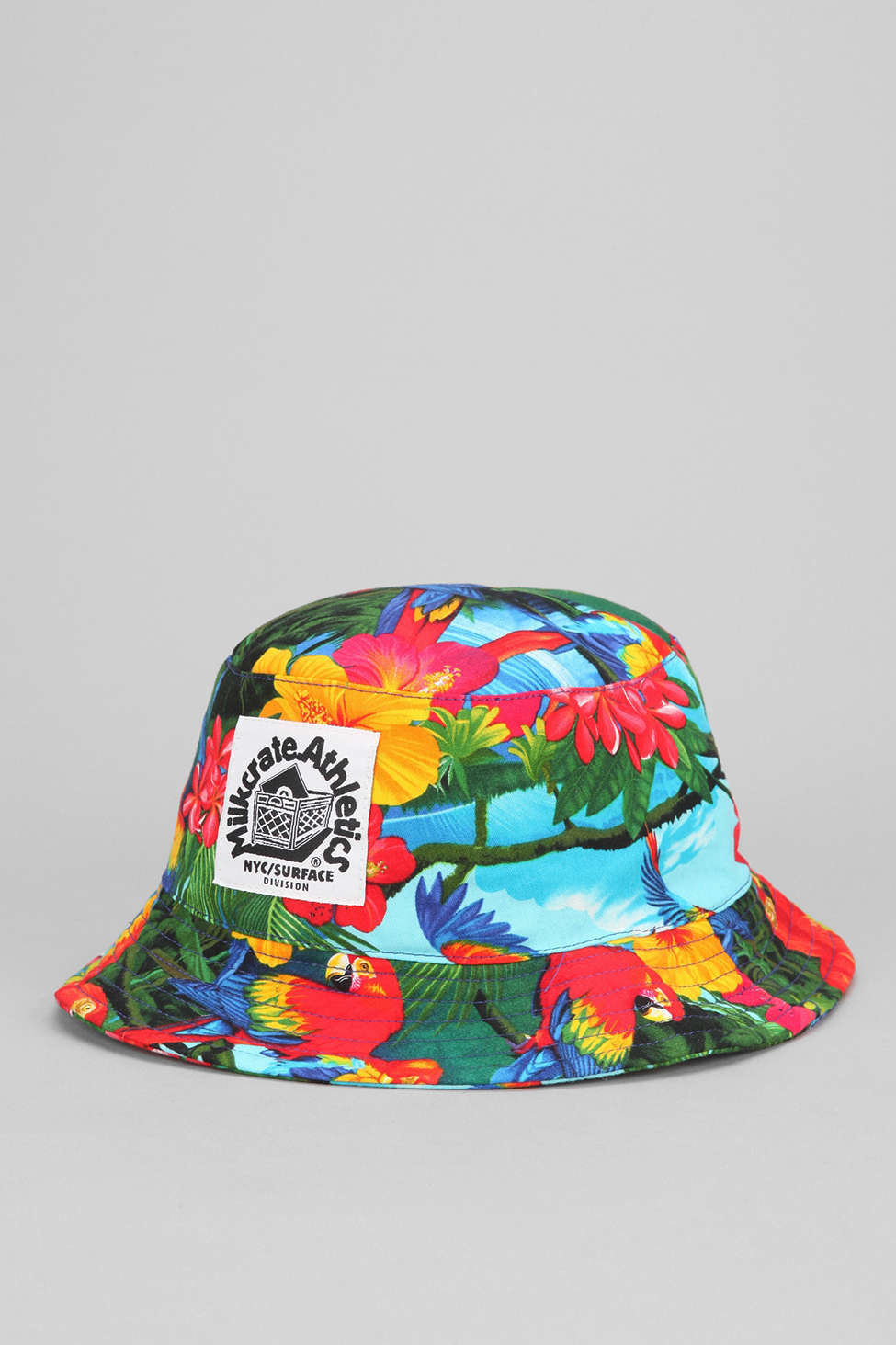 90f4668e390 Lyst - Milkcrate Athletics Tropical Bucket Hat for Men