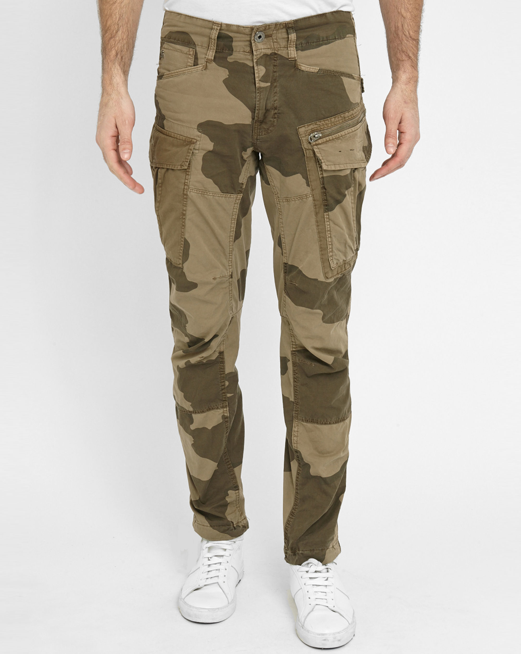 g star raw camouflage beige rovic zip 3d tapered multi. Black Bedroom Furniture Sets. Home Design Ideas