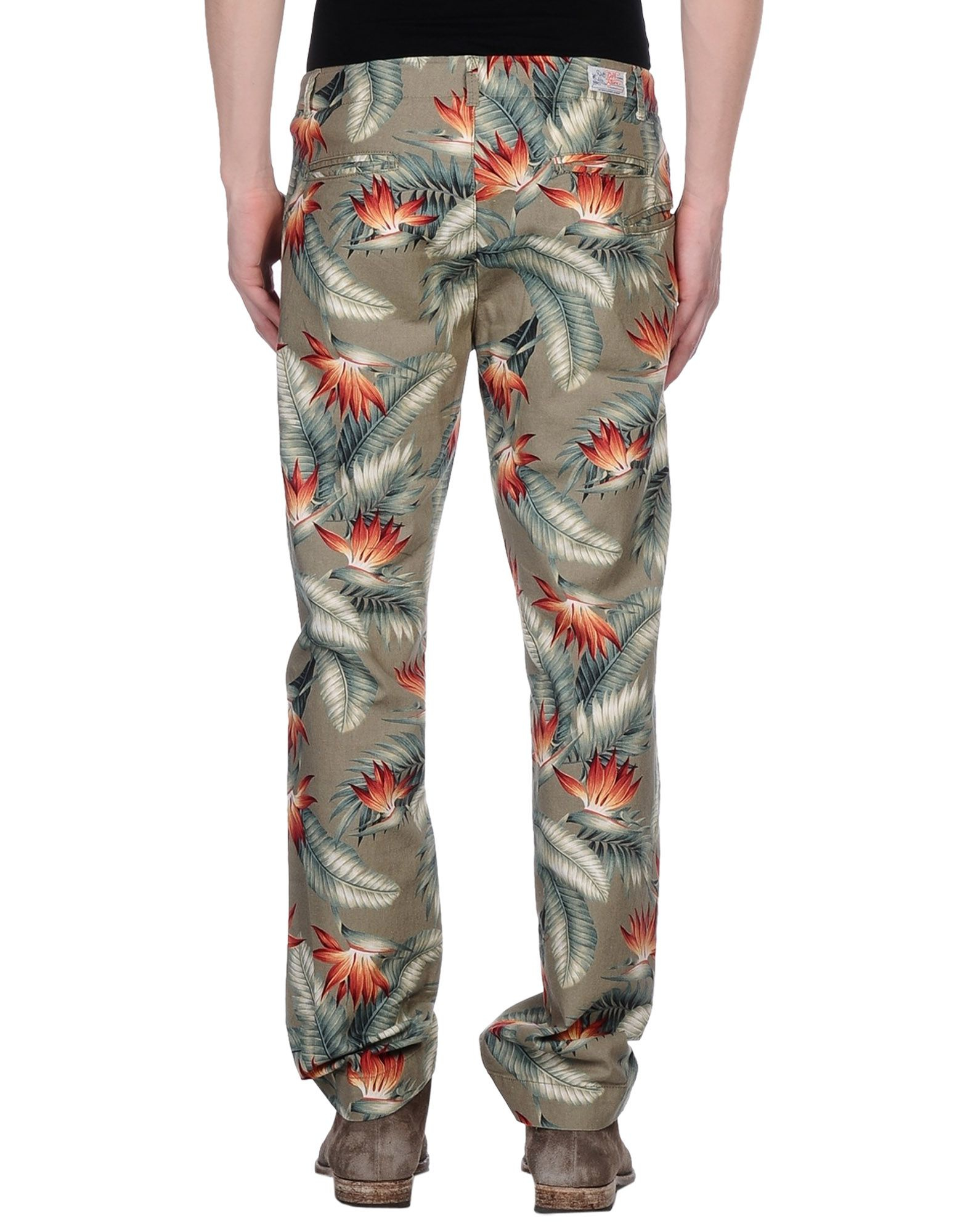 Garbstore Cotton Casual Trouser in Military Green (Green) for Men