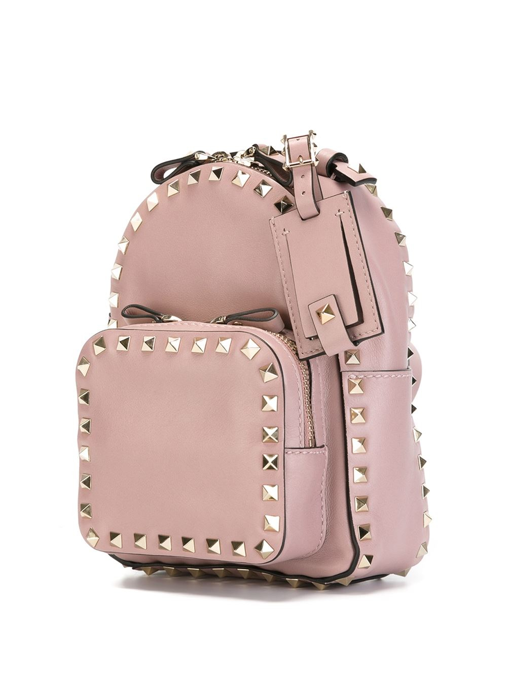 44a5ccd530 Valentino Mini 'rockstud' Backpack in Pink - Lyst