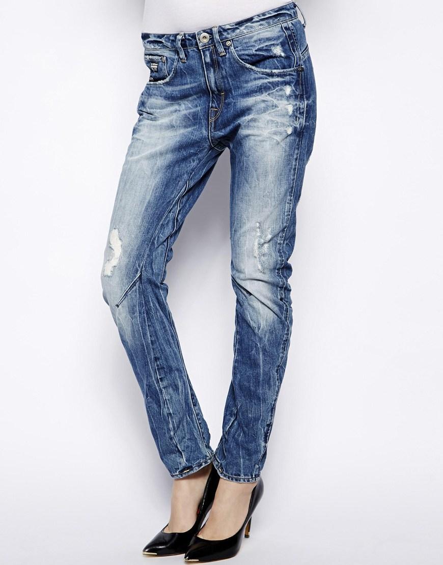 2408beb4083 G-Star RAW Arc 3d Boyfriend Jeans in Blue - Lyst