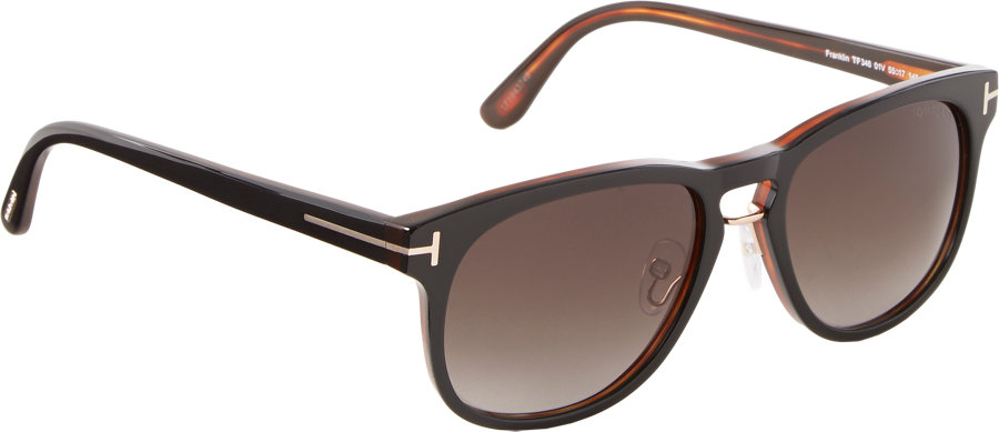tom ford franklin sunglasses in black for men lyst. Cars Review. Best American Auto & Cars Review