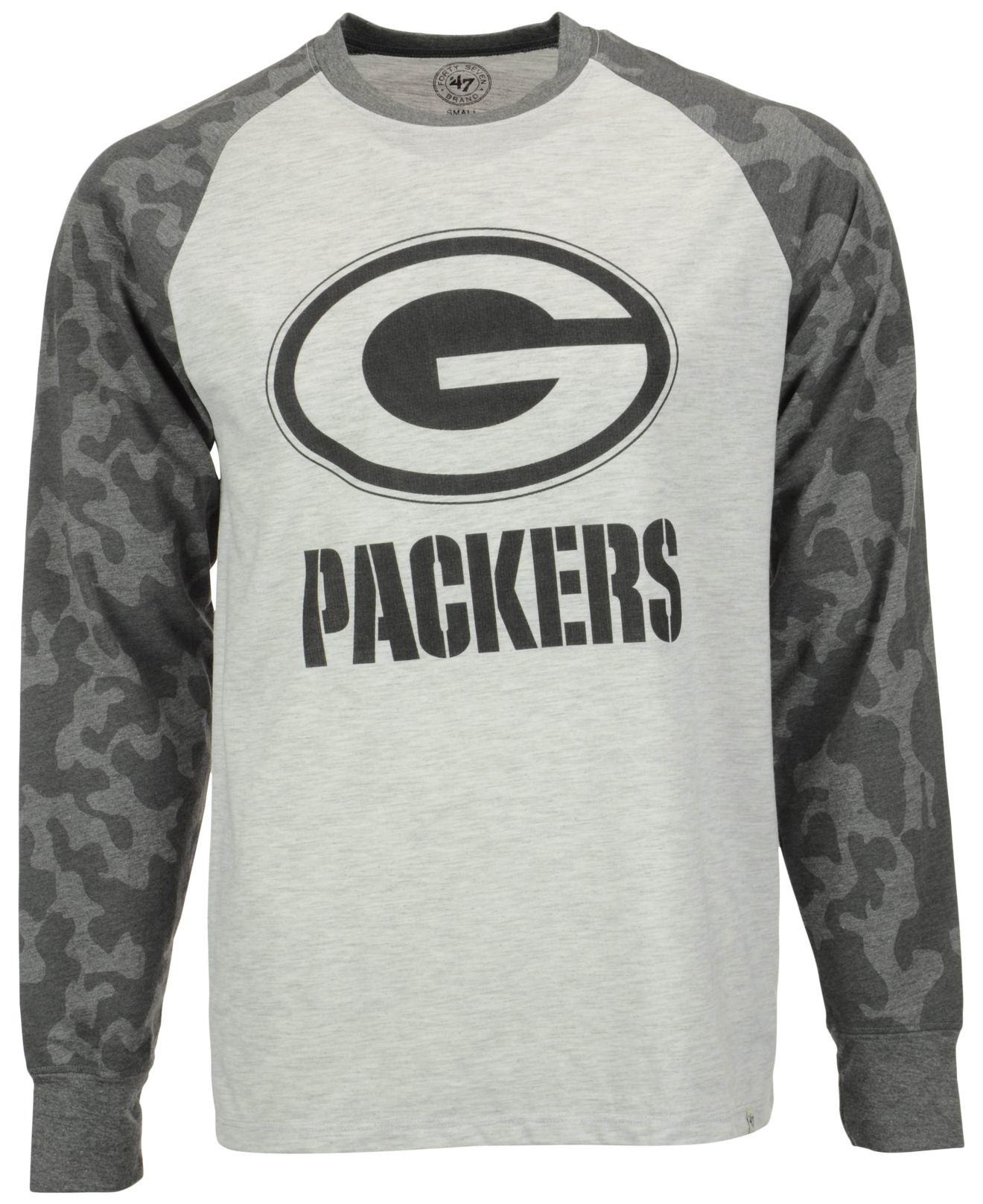 release date 0a3a0 4cf04 47 Brand Gray Men's Green Bay Packers Stealth Camo Sweatshirt for men