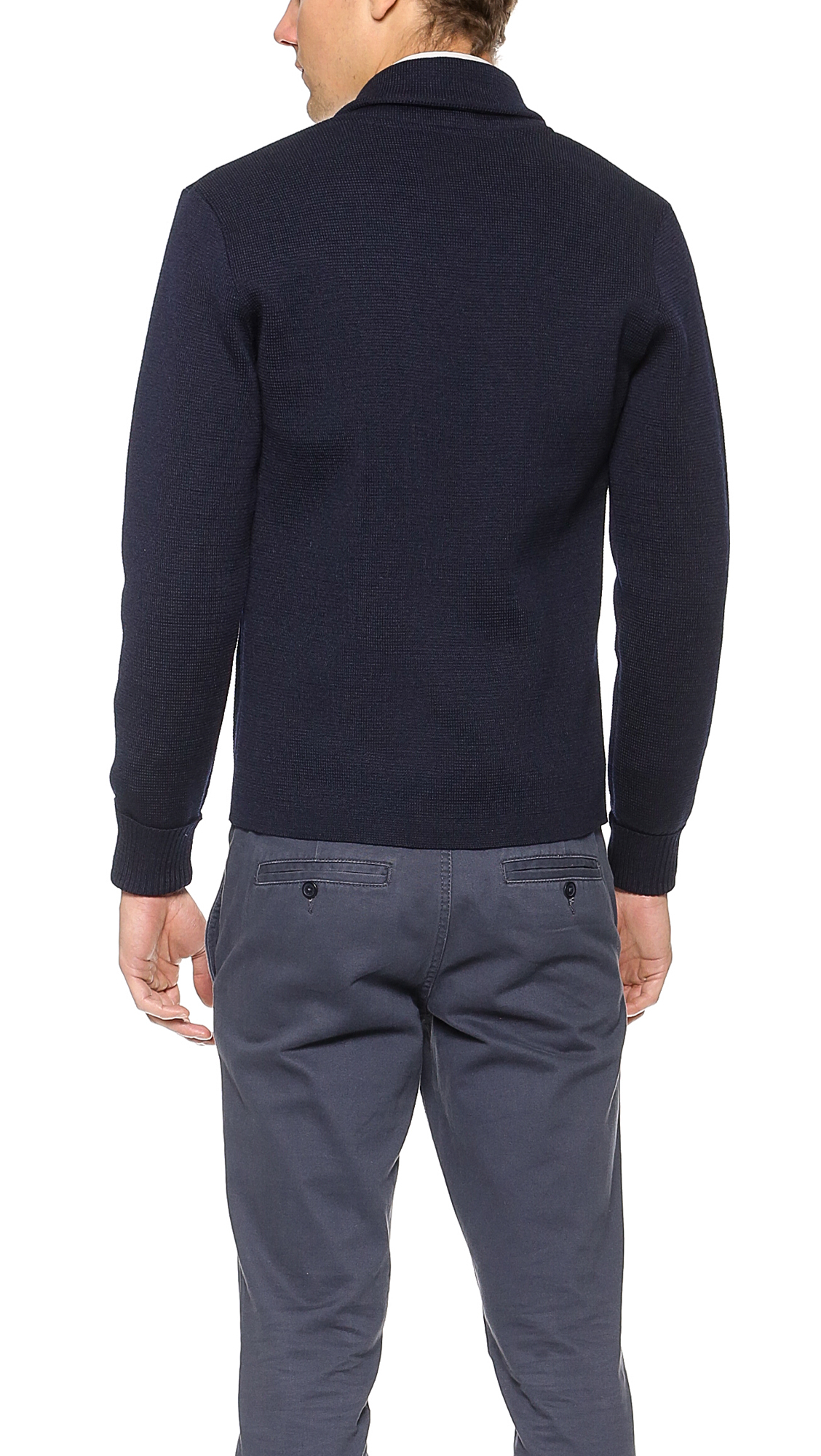 Arpenteur Roscoff Jacket in Navy (Blue) for Men