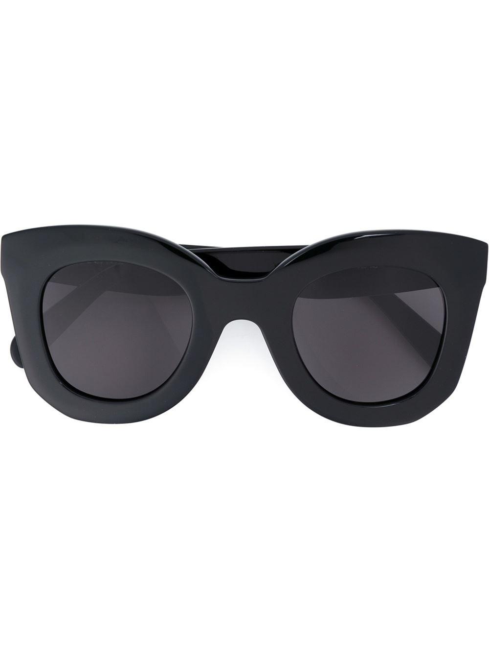 Where To Celine Sunglasses  céline marta sunglasses in black lyst