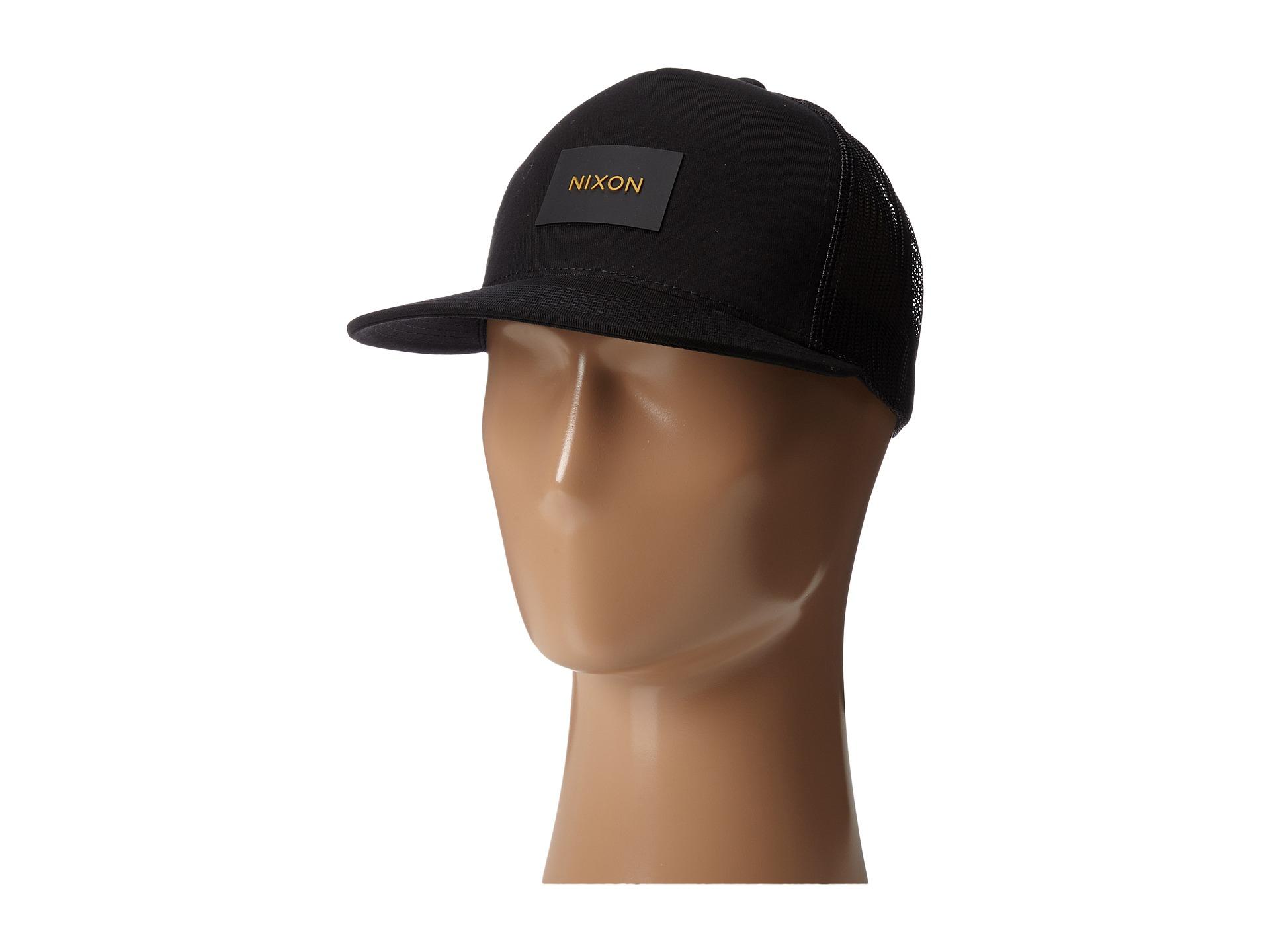 Lyst - Nixon Team Trucker Hat in Black 3027c761b3b