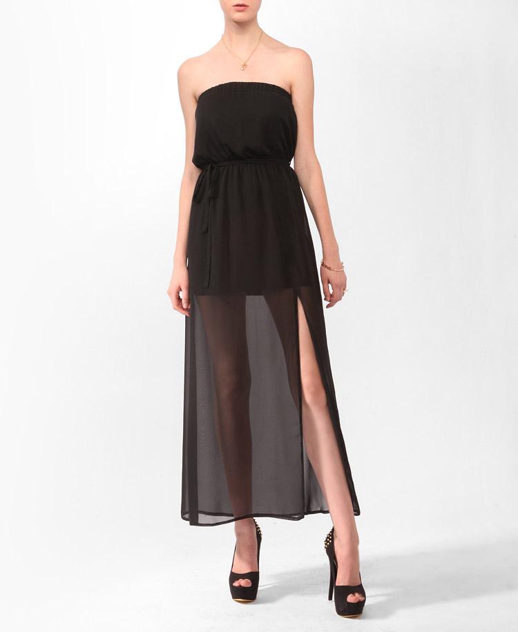 black tube dress forever 21 - photo #42