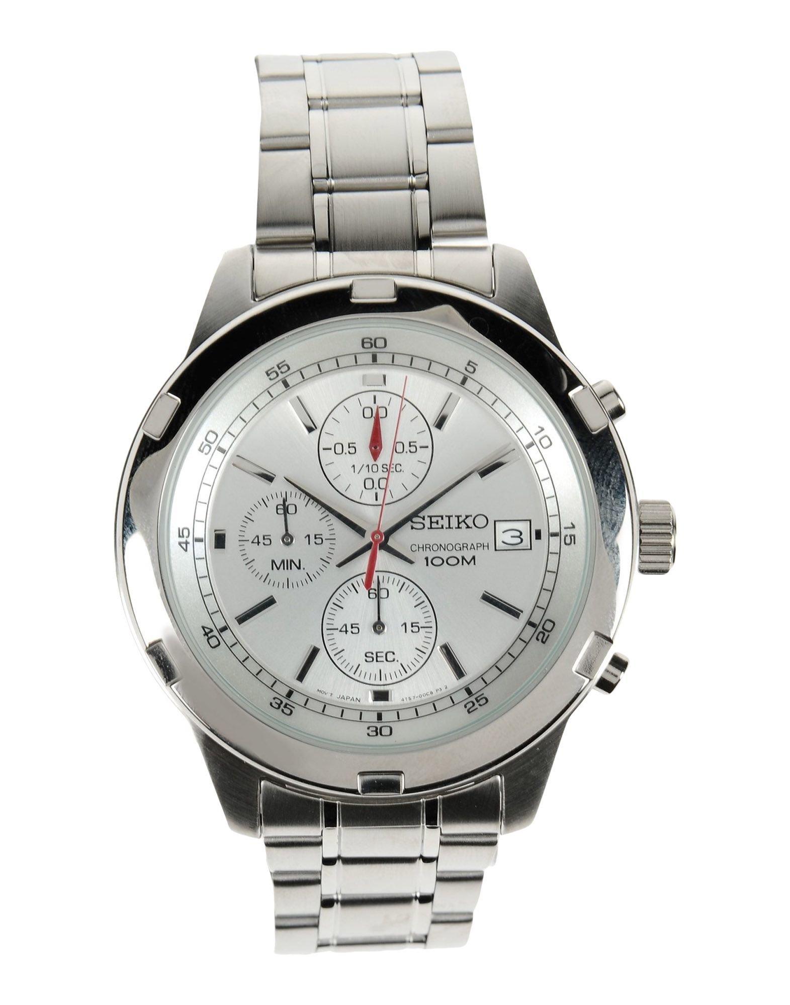 Seiko Wrist Watch in Silver for Men