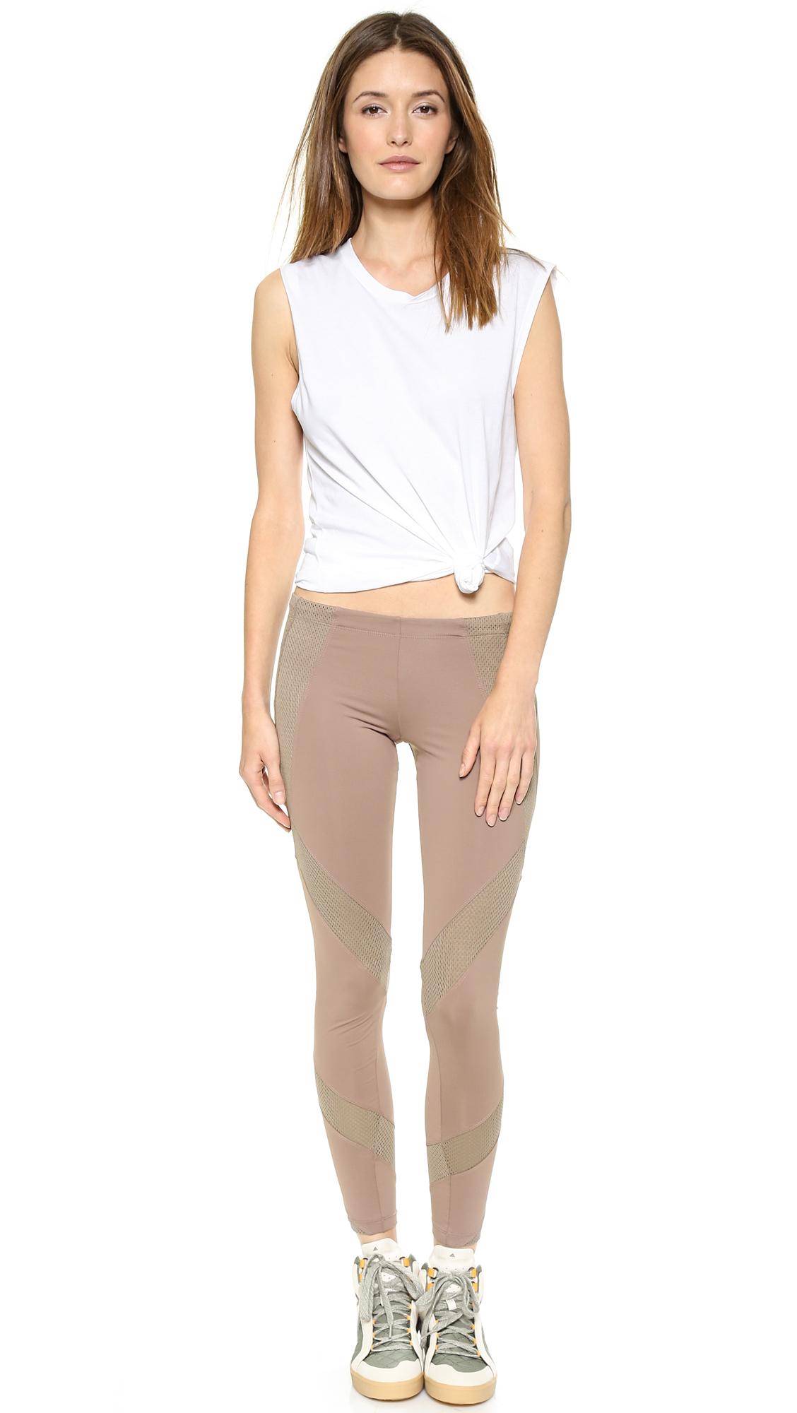 See through leggings on thick milf 5