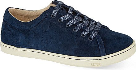 blue ugg trainers