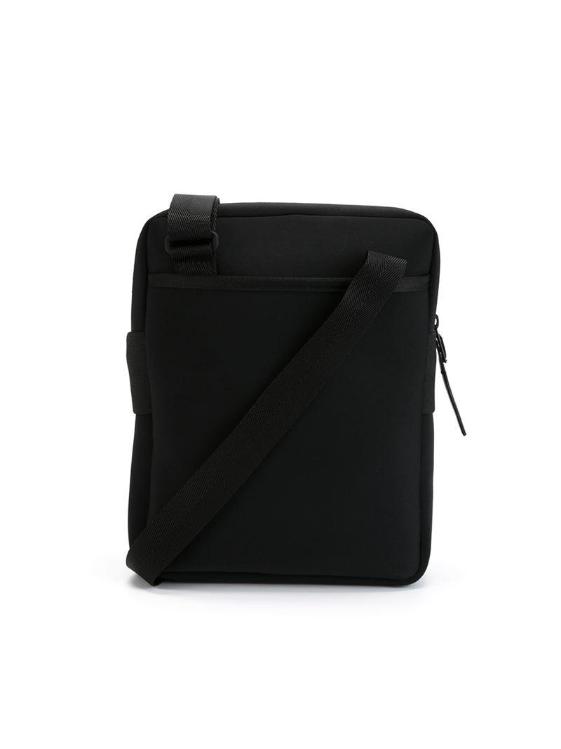 Y-3  day Organizer  Messenger Bag in Black for Men - Lyst 0d0c510c53f82