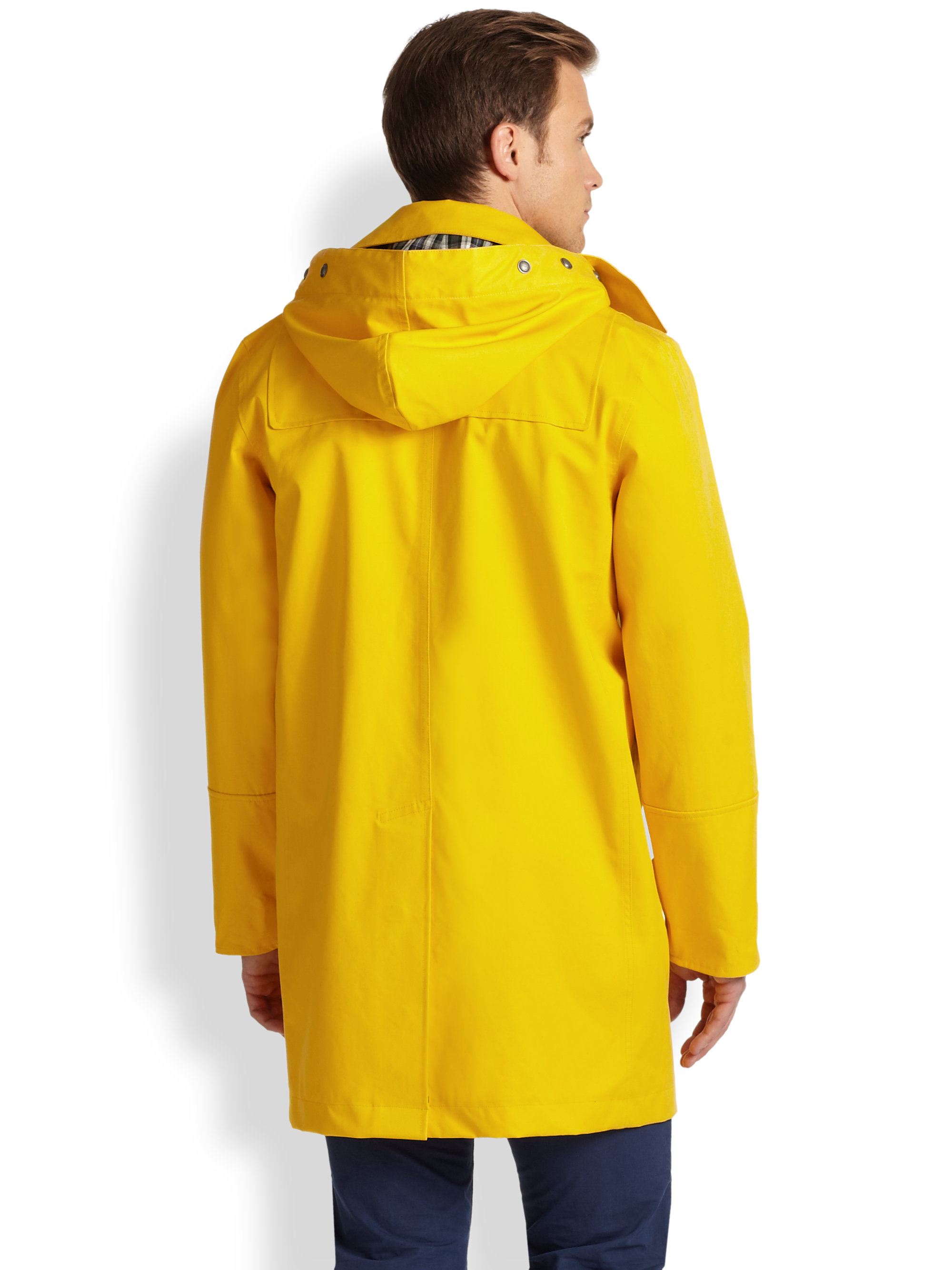 Lyst - Polo Ralph Lauren Rlx Toggle Coat in Yellow for Men 0a4809473715e