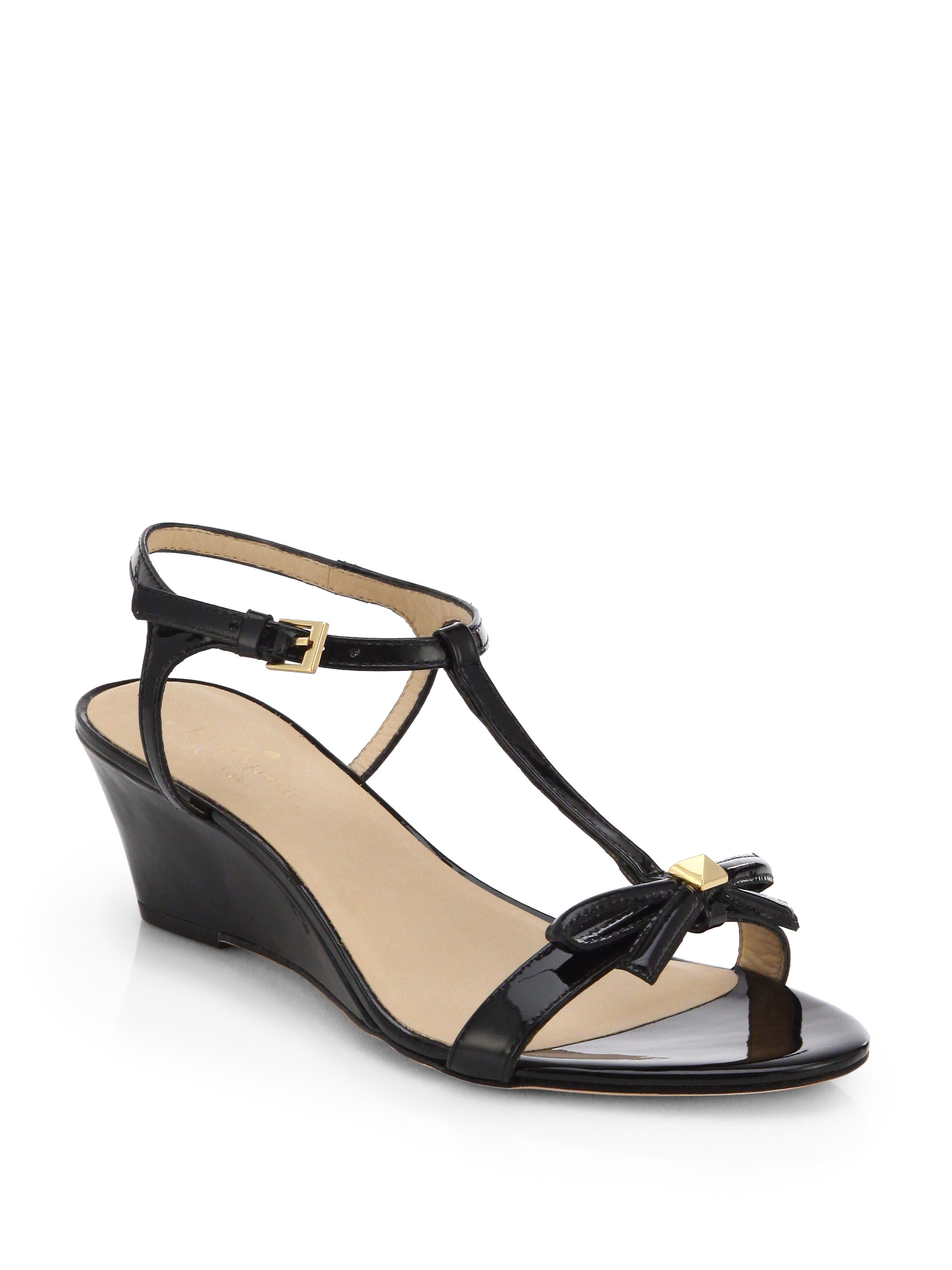 Kate Spade Donna Patent Leather Wedge