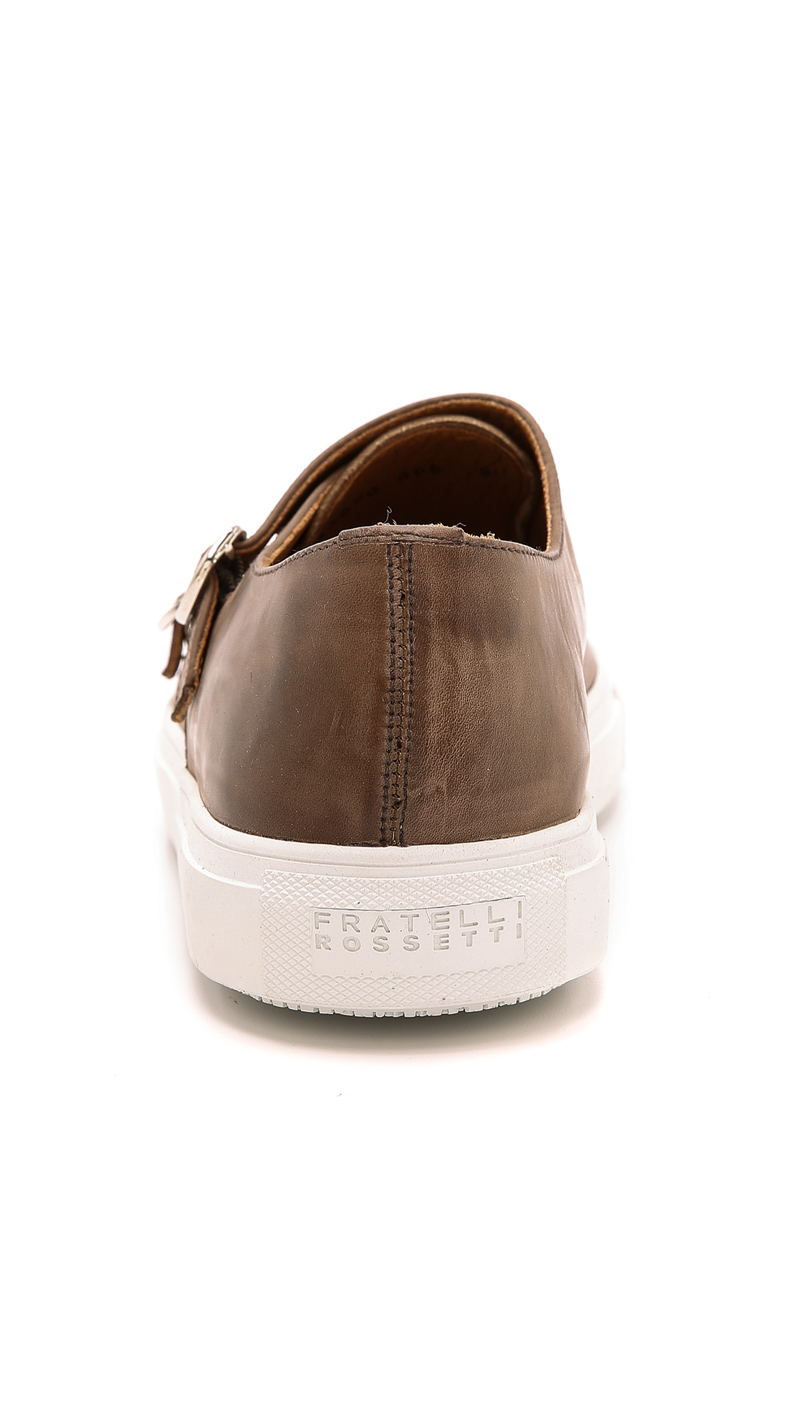 Fratelli Rossetti Double Monk Sport Loafers in Brown for Men