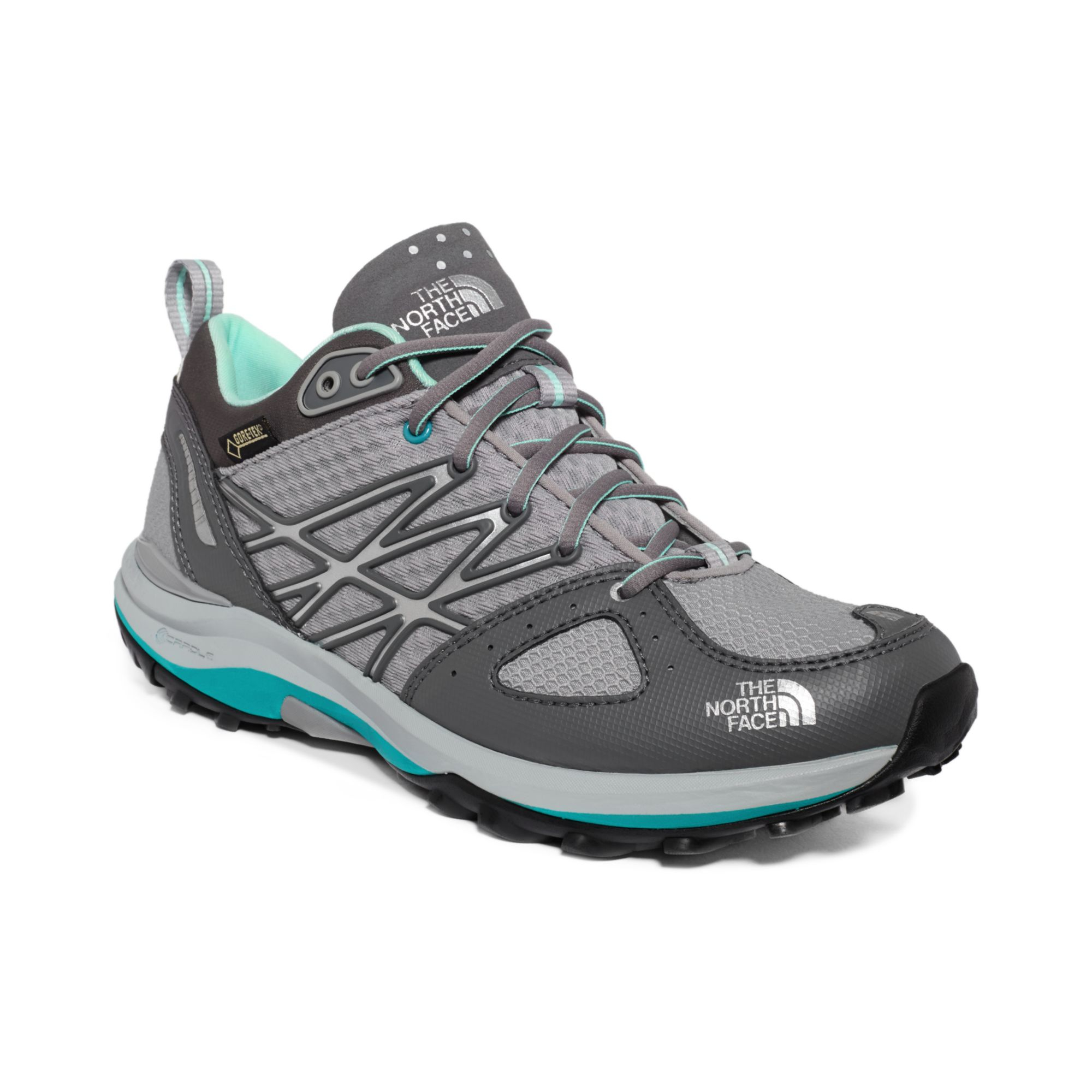 bdd7ae2ad The North Face Gray Womens Ultra Fastpack Gtx Sneakers