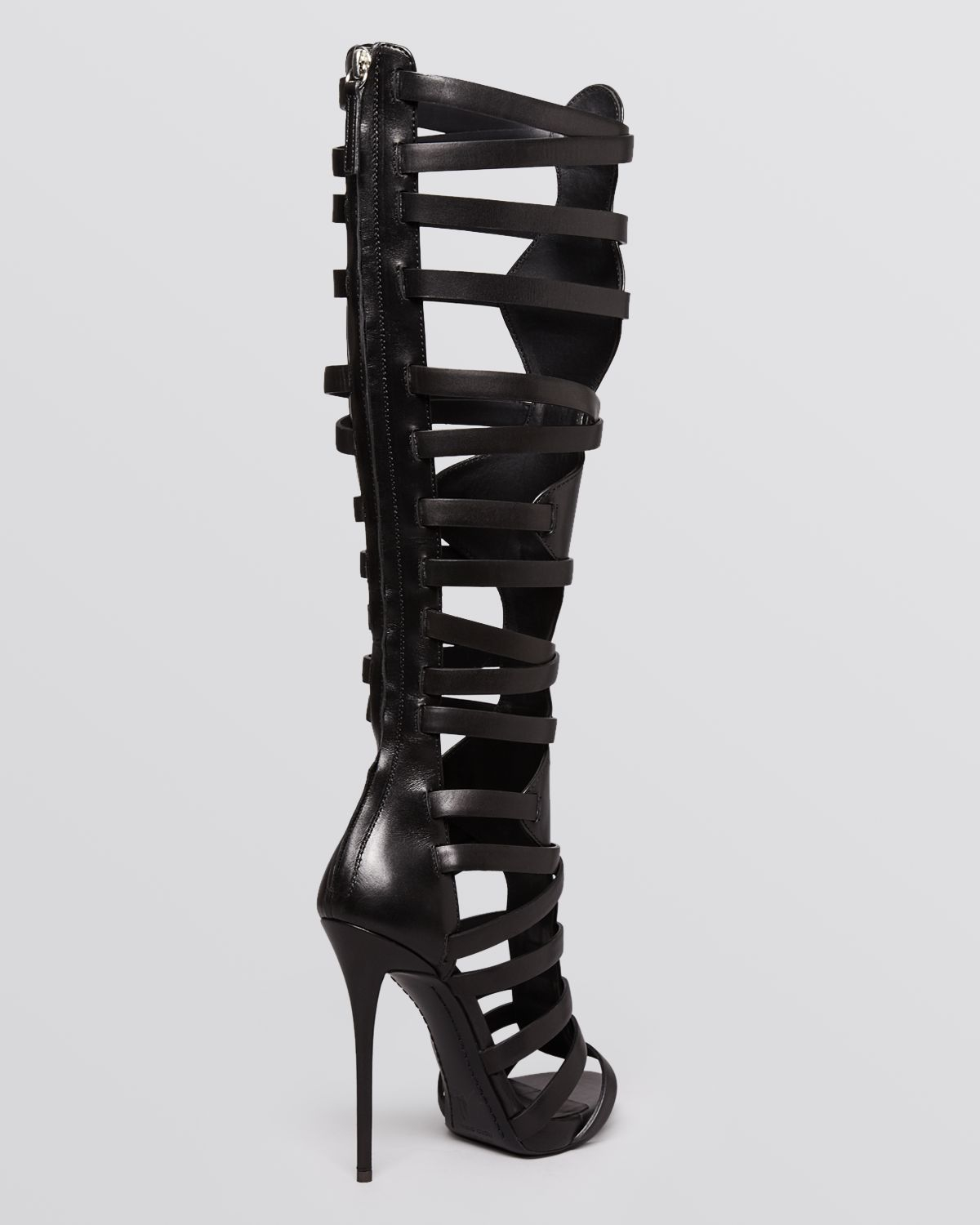 Knee High Gladiator High Heels