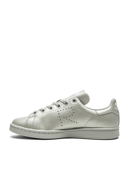 ed967cd460ff Adidas by raf simons Stan Smith Metallic Leather Sneakers .