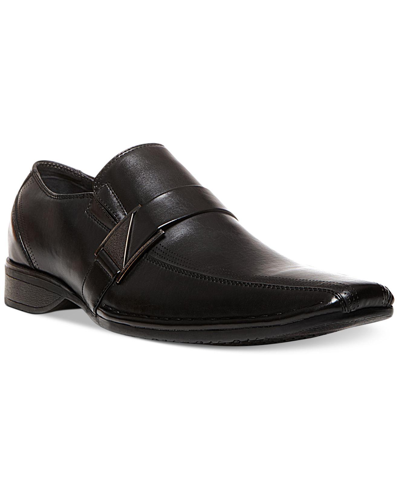 Steve Madden Madden Rockir Dress Slip On Shoes in Black for Men | Lyst