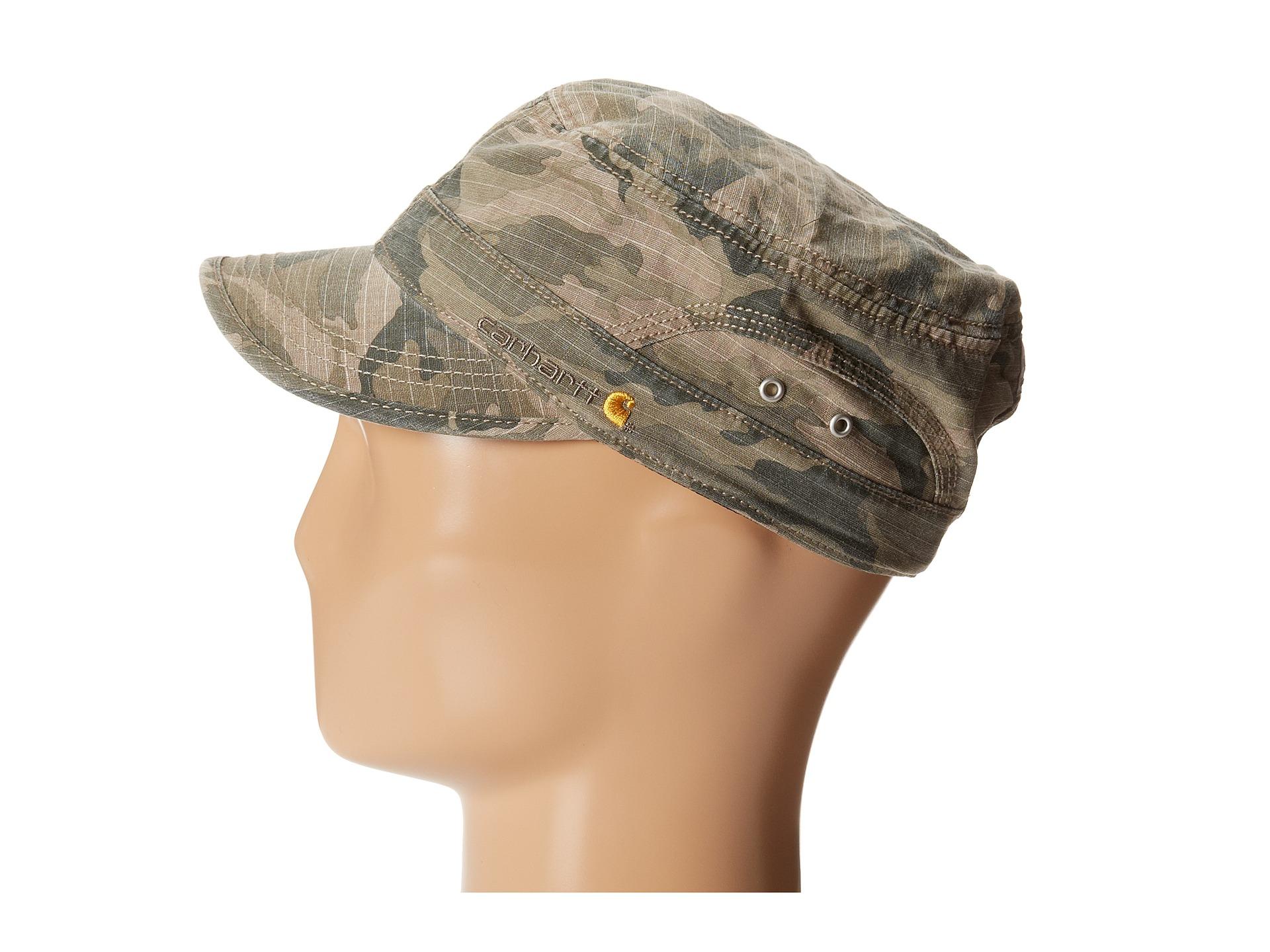 b509986ae9d33 ... spain lyst carhartt el paso ripstop military cap in natural 4eb37 561b9