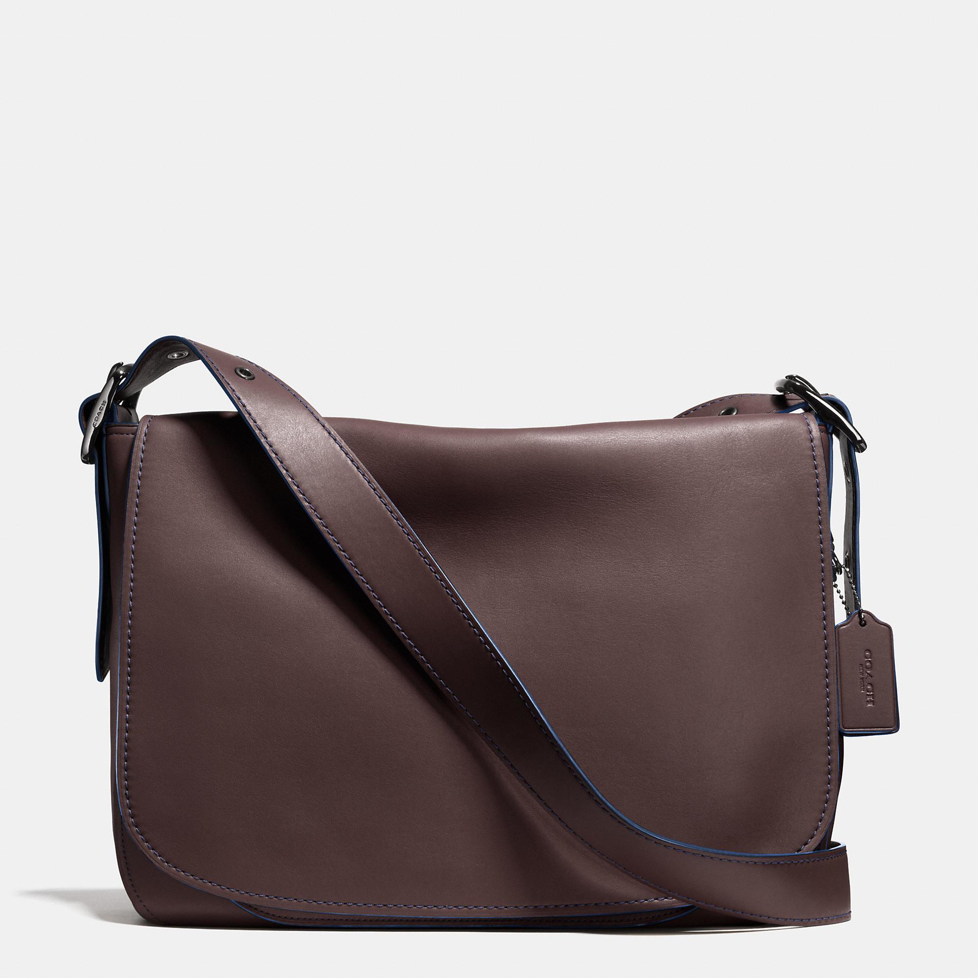 Coach Saddle Bag Messenger 38 In Glovetanned Leather in ... Saddle Bag