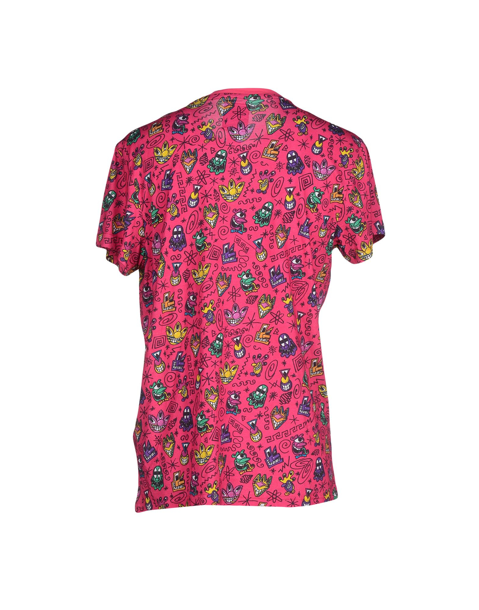 Jeremy scott for adidas t shirt in pink for men lyst for Adidas custom t shirts