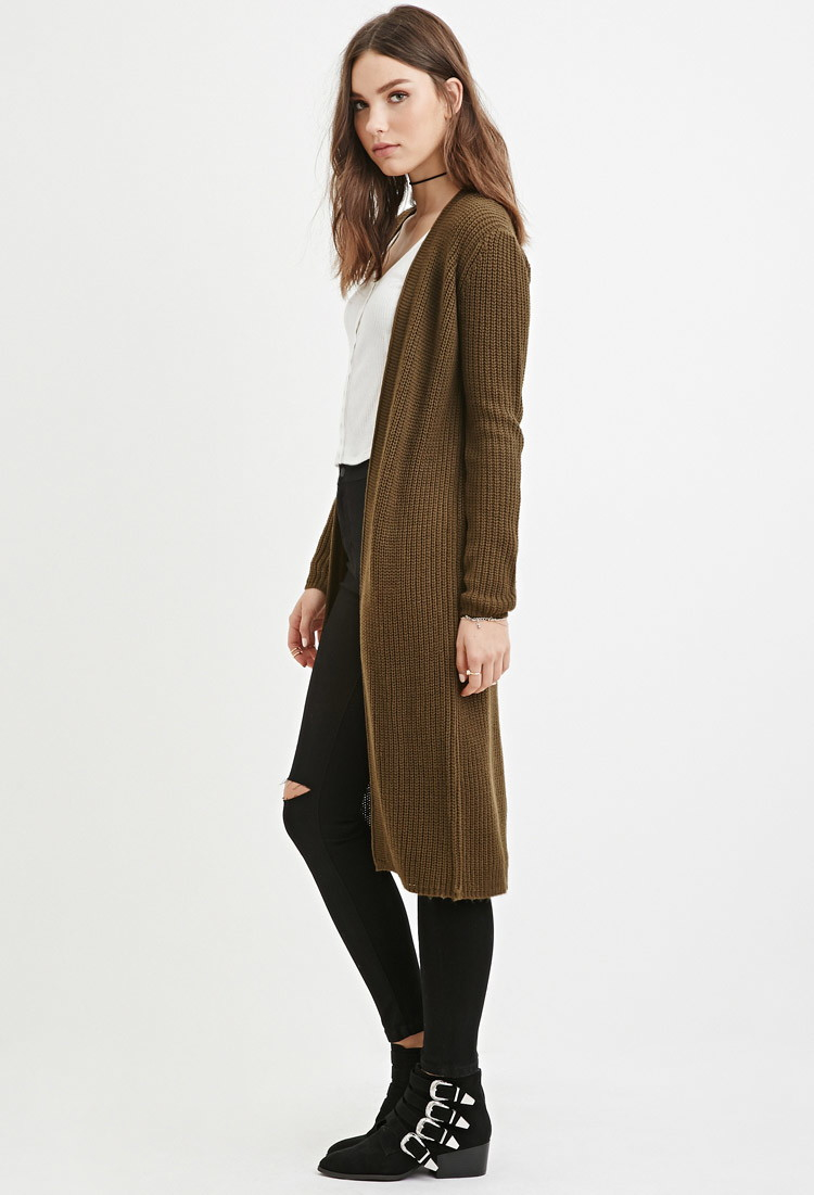 Forever 21 Longline Cardigan You've Been Added To The Waitlist in ...