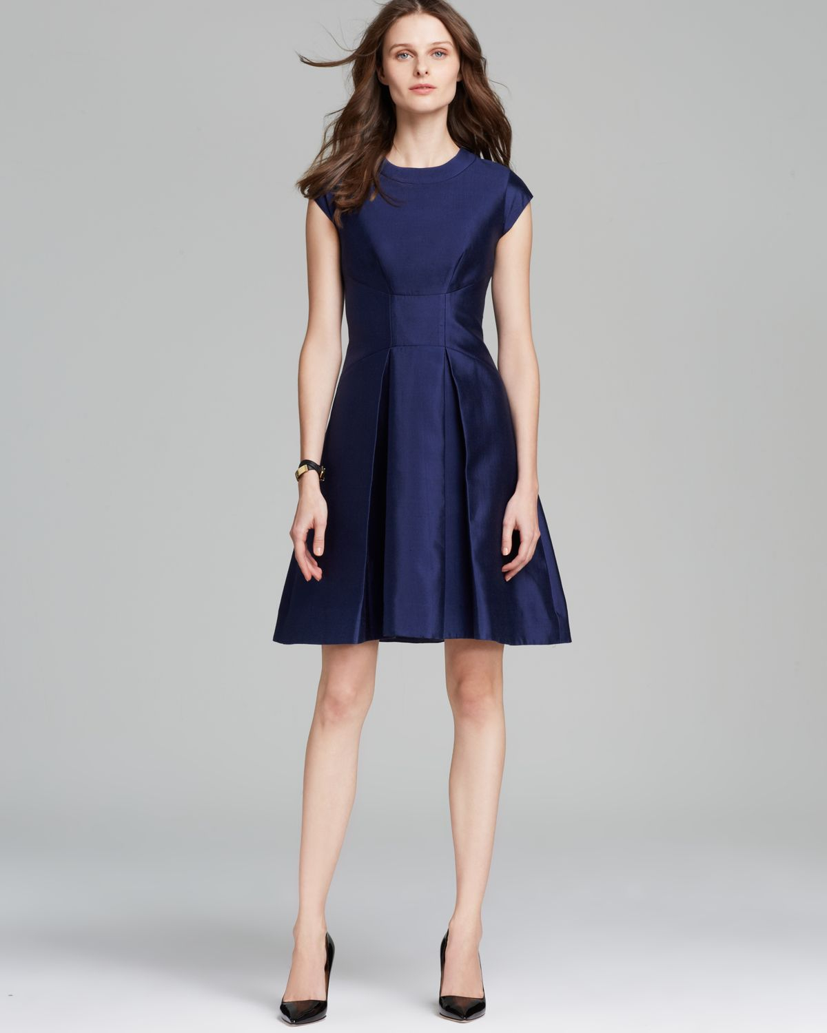 Kate Spade Vail Dress In French Navy Blue Lyst