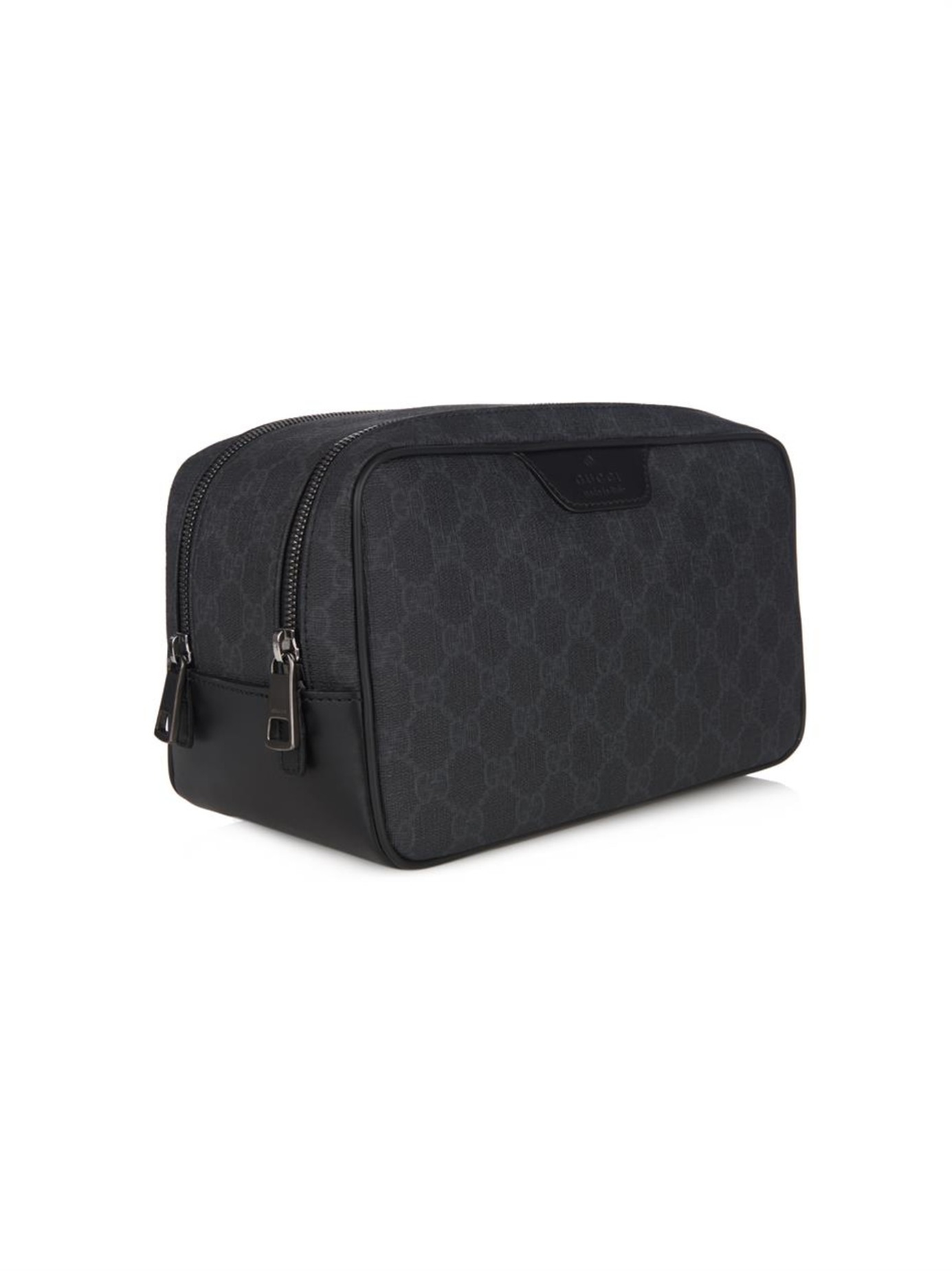 202fac24a381 Gucci Wash Bag Black   Stanford Center for Opportunity Policy in ...