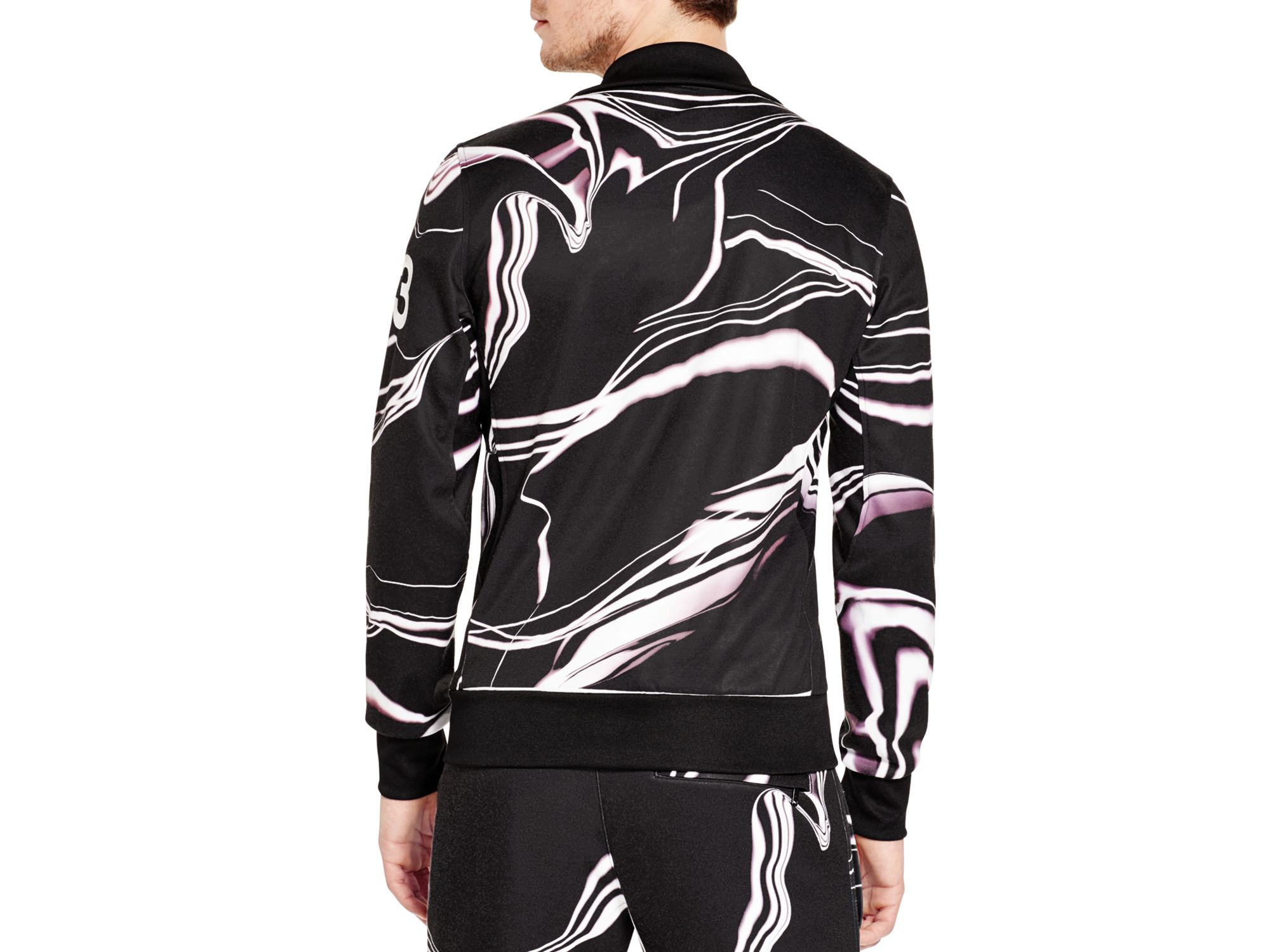Y-3 Cotton Lightning Classic Track Jacket for Men