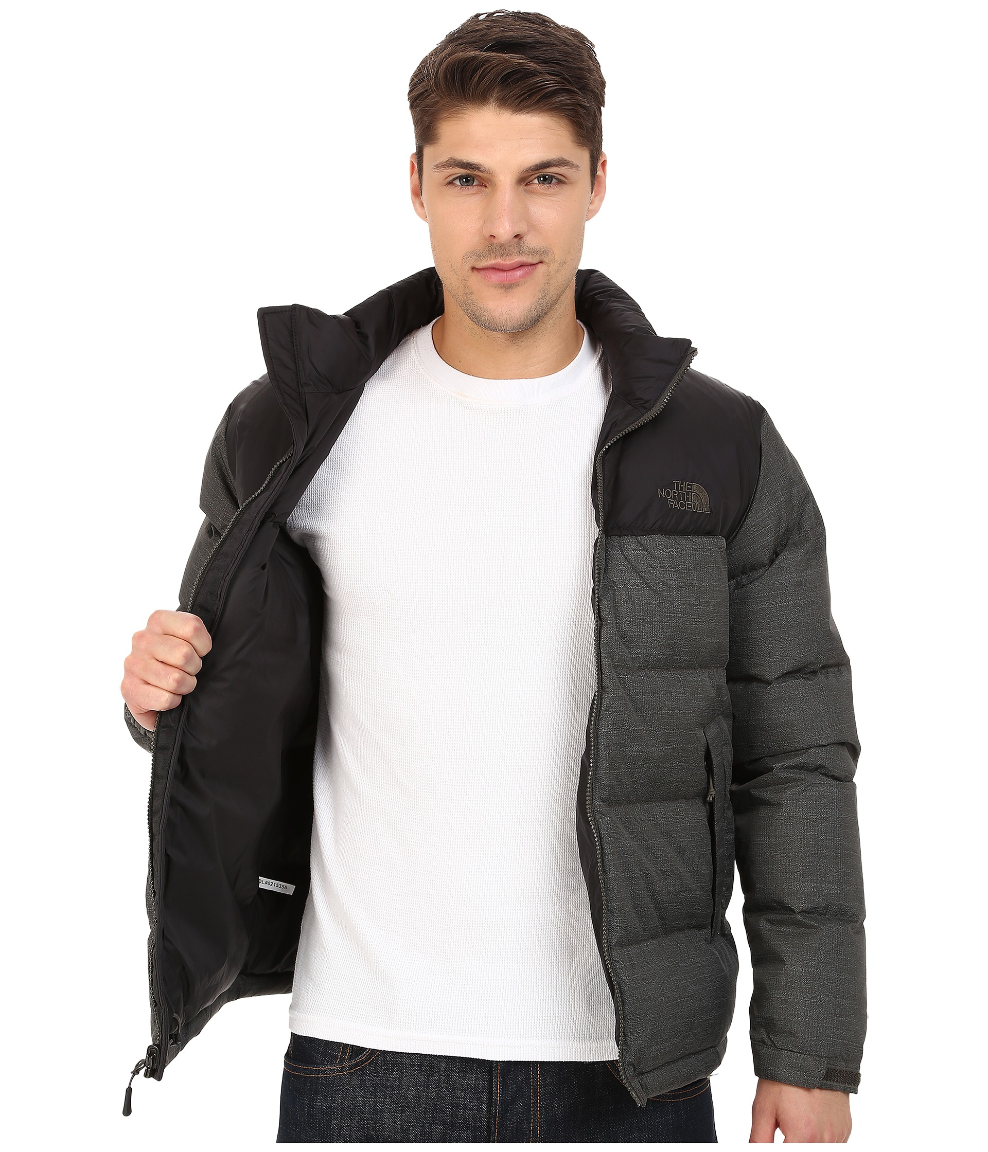f47ee16374 Lyst - The North Face Nuptse Jacket in Black for Men