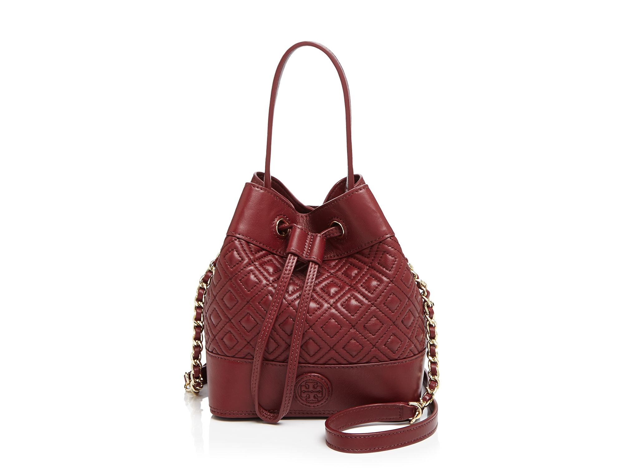 e8eda26f6c Tory Burch Marion Quilted Mini Bucket Bag - Best Quilt Grafimage.co