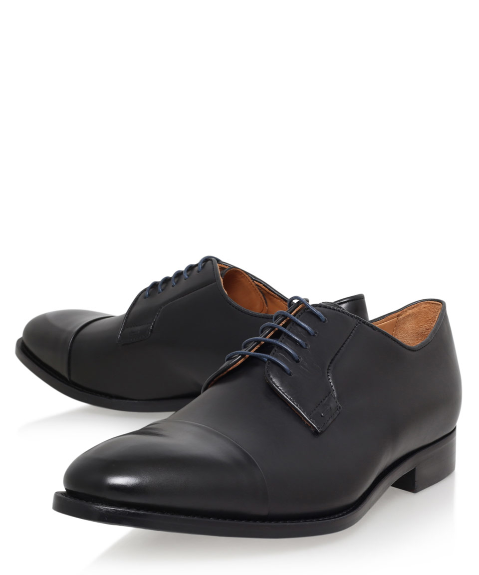 paul smith black ernest derby shoes in black for lyst