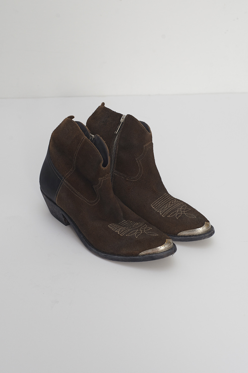 golden goose deluxe brand boots in brown for lyst