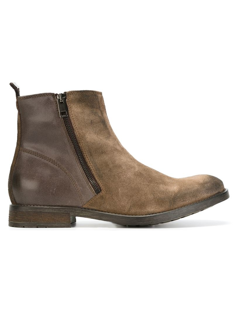 DIESEL 'd-anklyx' Ankle Boots in Brown
