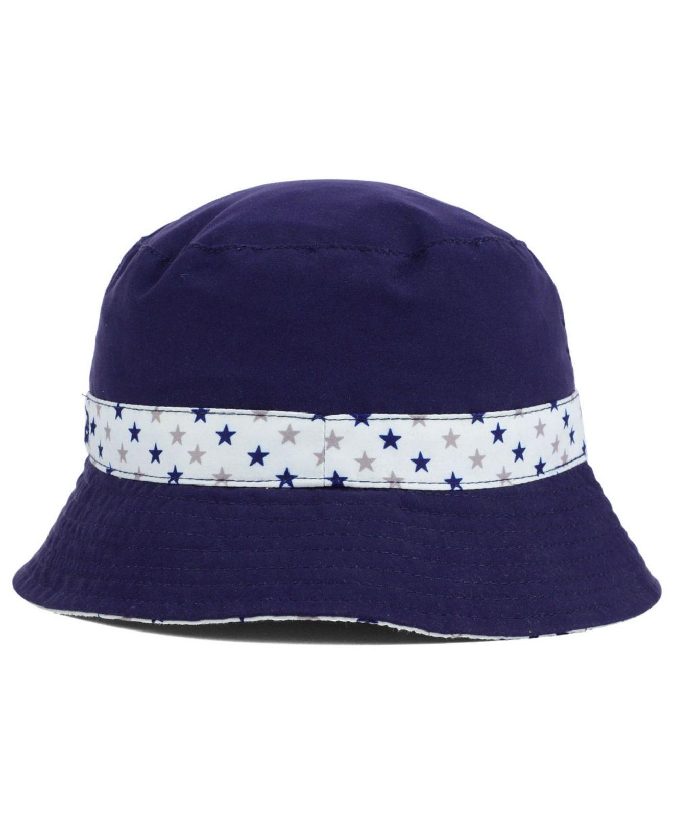 e0e5a6a13ced1 Lyst - KTZ Kids  Winnipeg Jets Reversible Bucket Hat in Blue