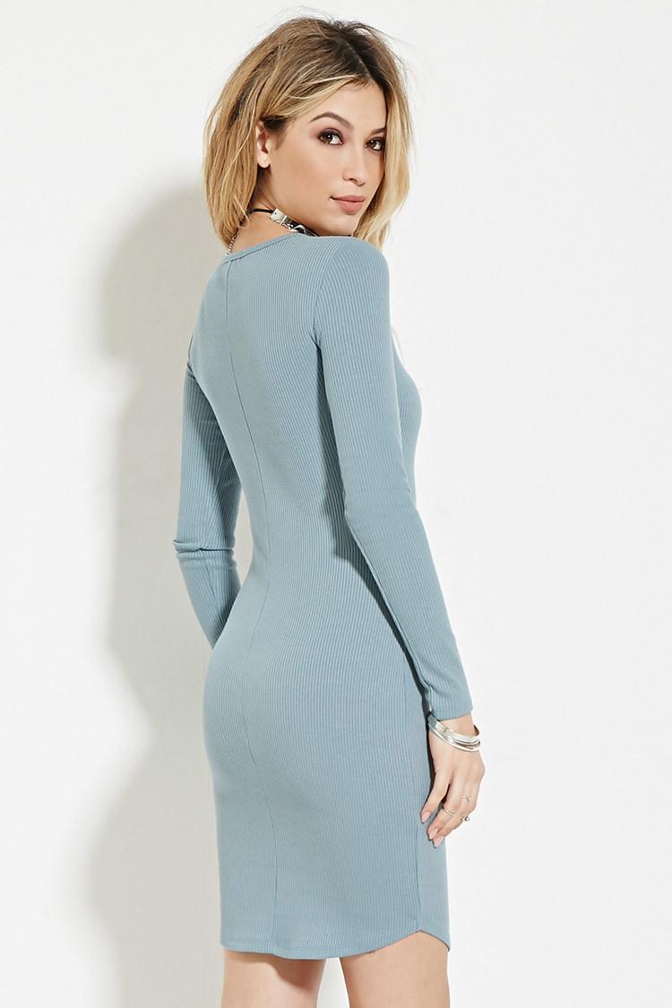Ribbed bodycon dress forever 21 size xxxxxl size