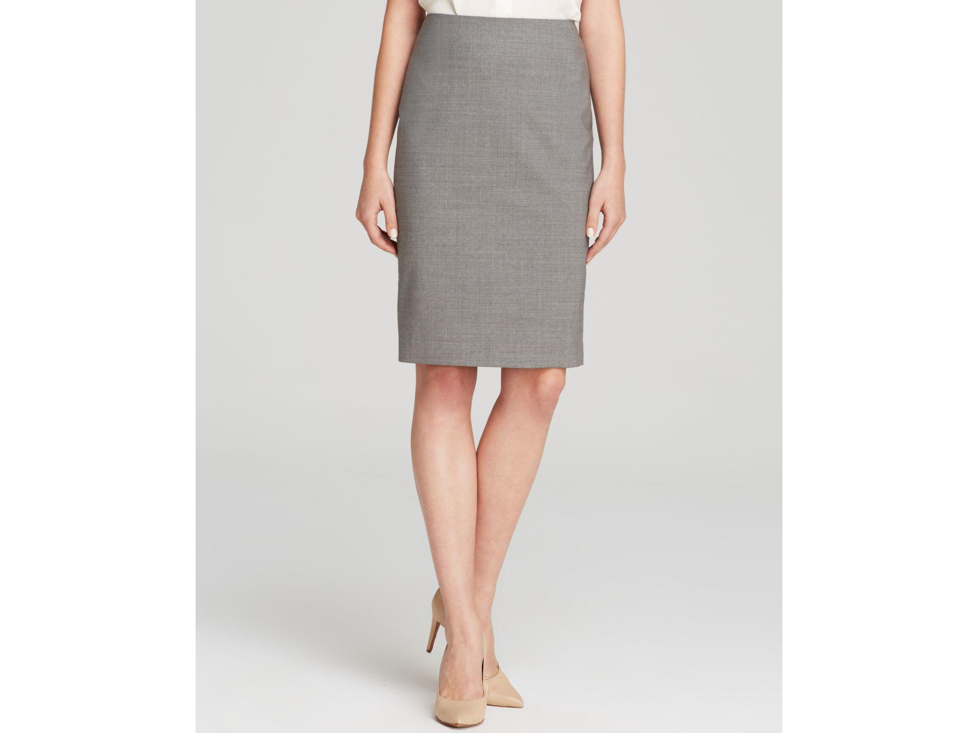 light gray pencil skirt dress ala