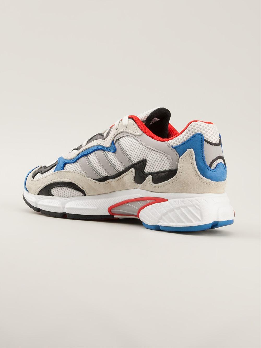 6b49e3536d43 Lyst - Adidas Temper Run Sneakers in White for Men ...