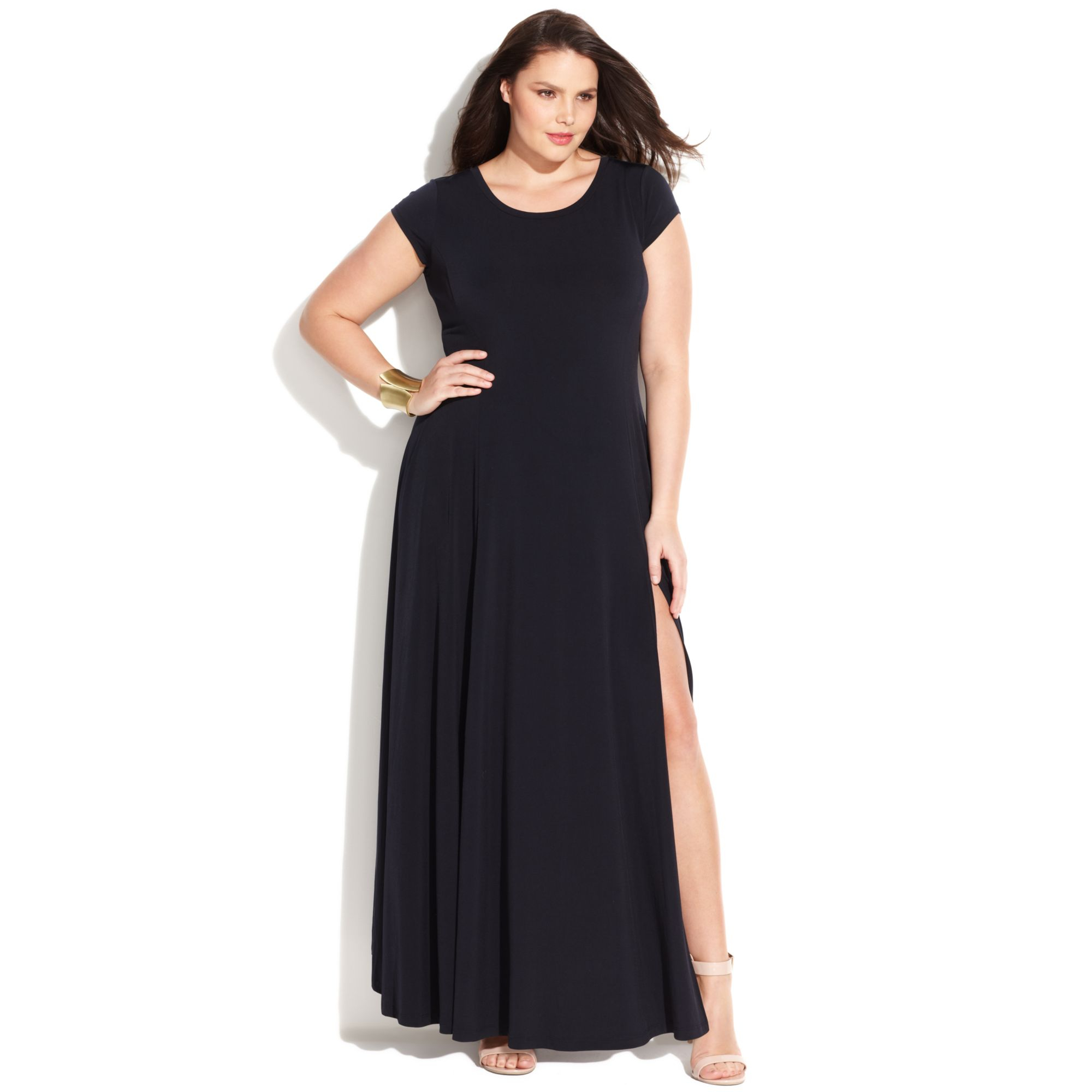 plus size clothes black